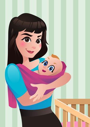 Vecteur de maternité