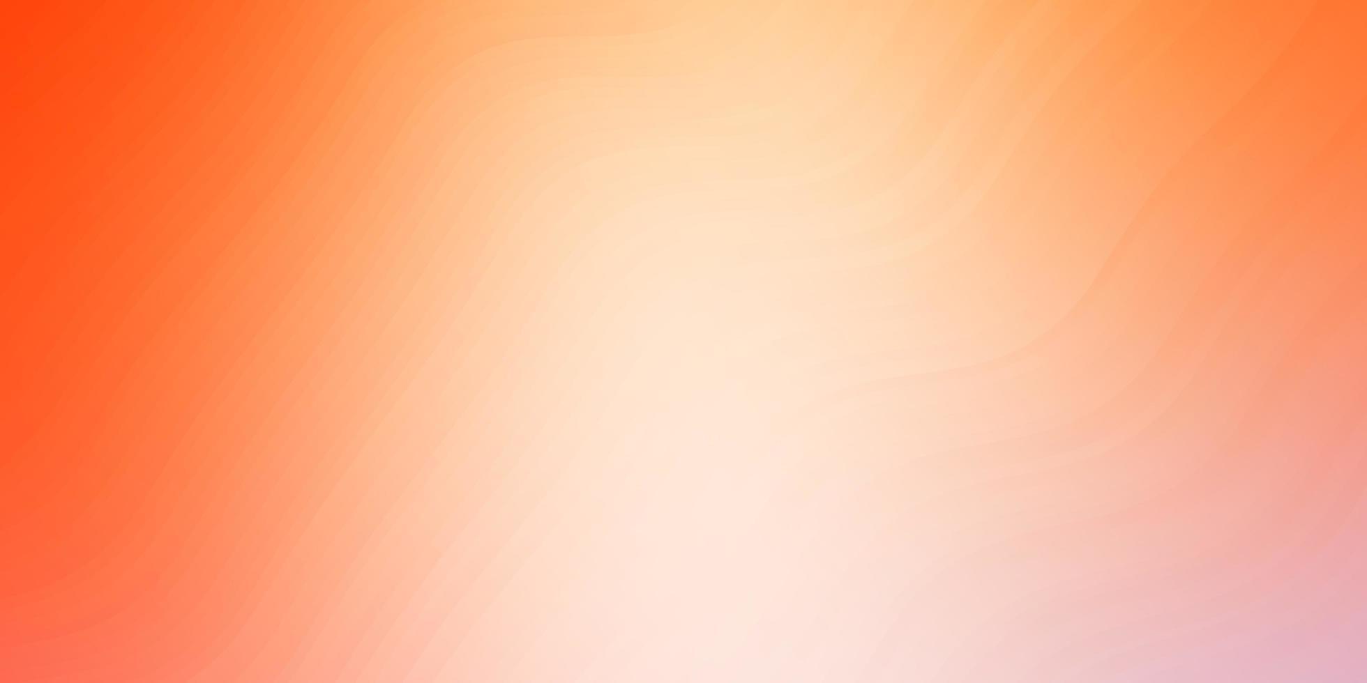 disposition de vecteur orange clair avec des courbes.