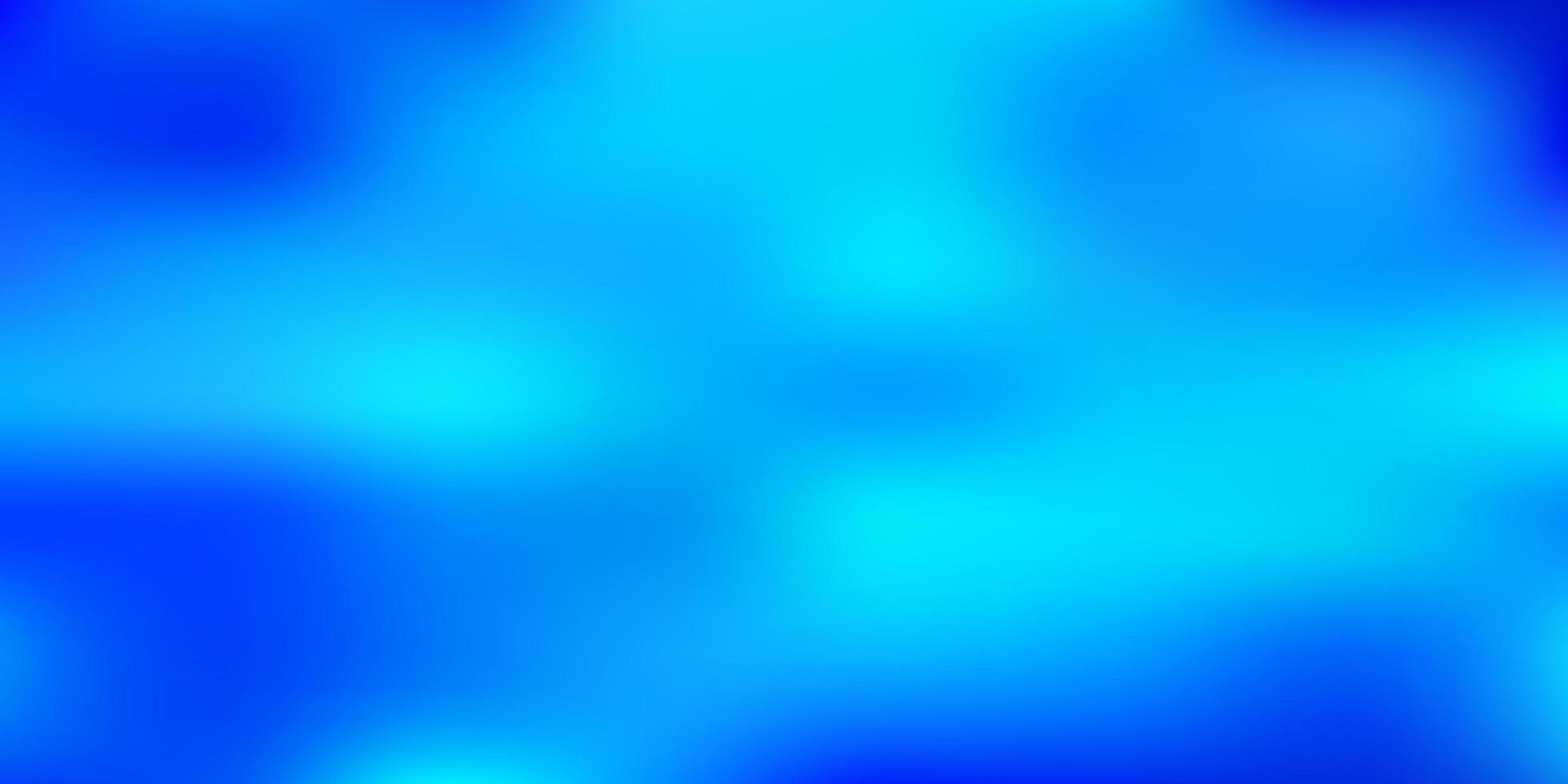 texture de flou de vecteur bleu clair.