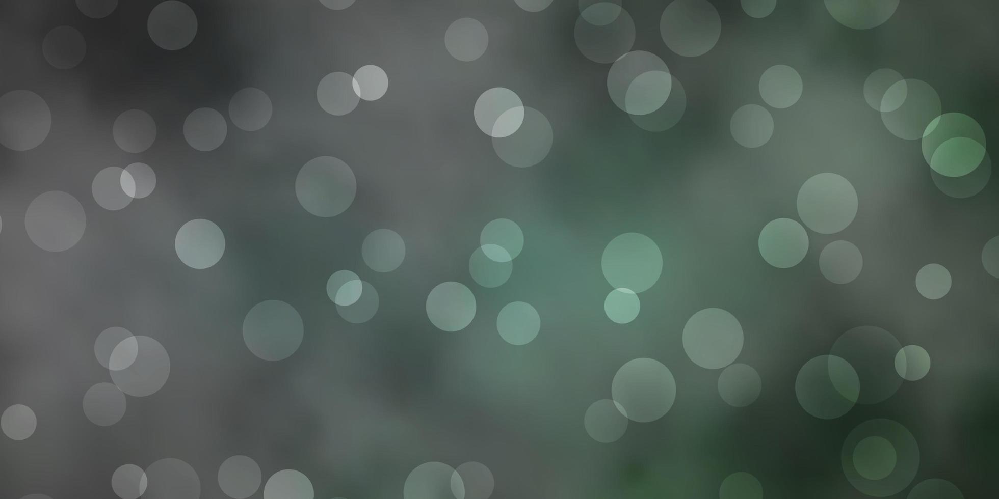 texture vecteur vert foncé avec des cercles.