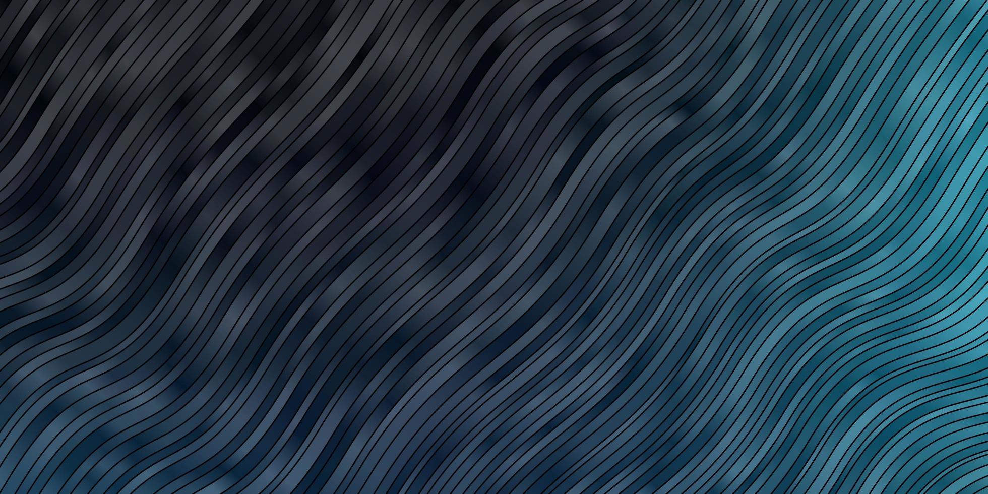 modèle vectoriel bleu foncé avec des lignes ironiques