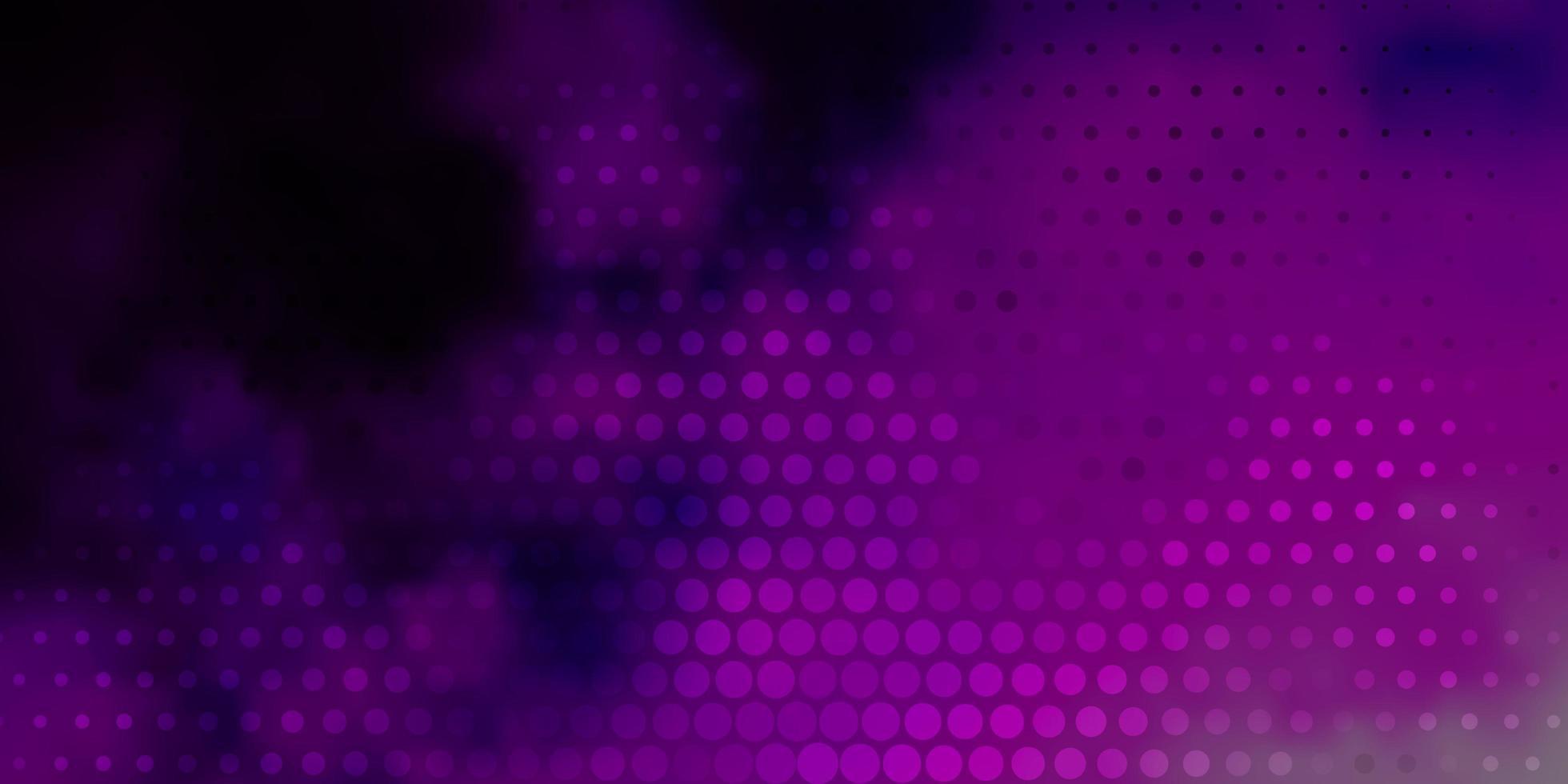texture de vecteur rose clair avec des disques.