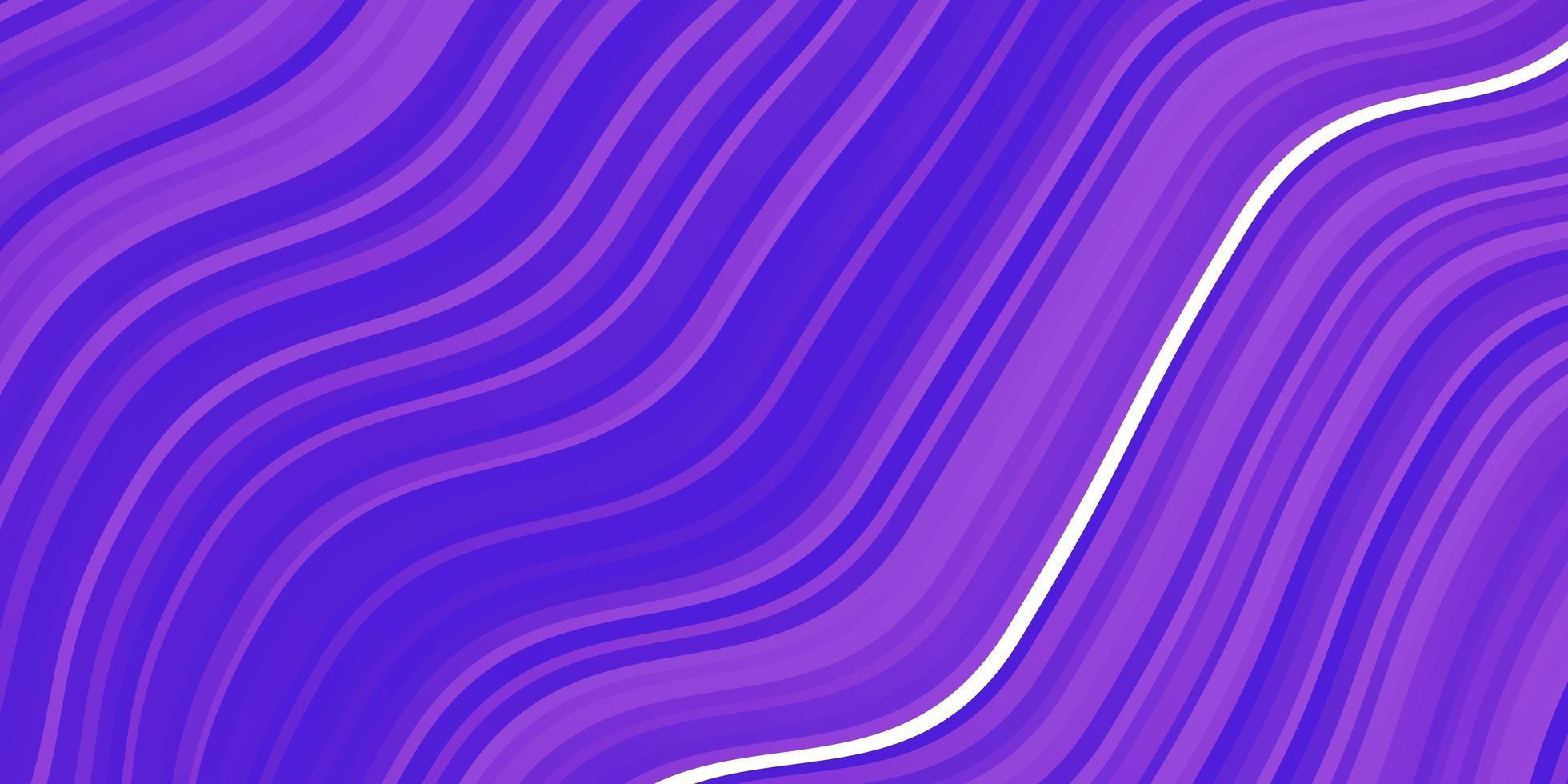 fond de vecteur violet clair avec des arcs.