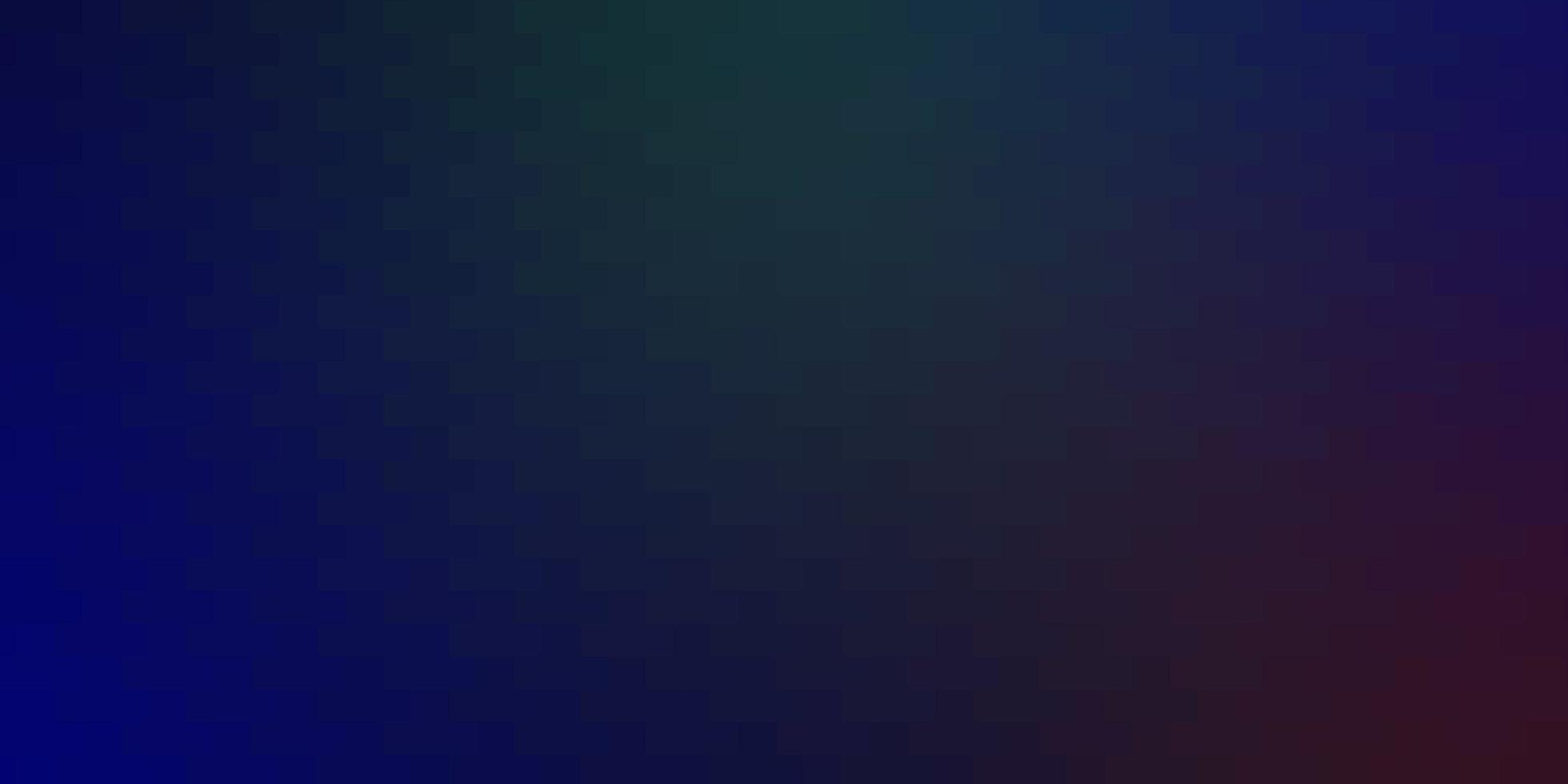 texture de vecteur bleu clair, rouge dans un style rectangulaire.