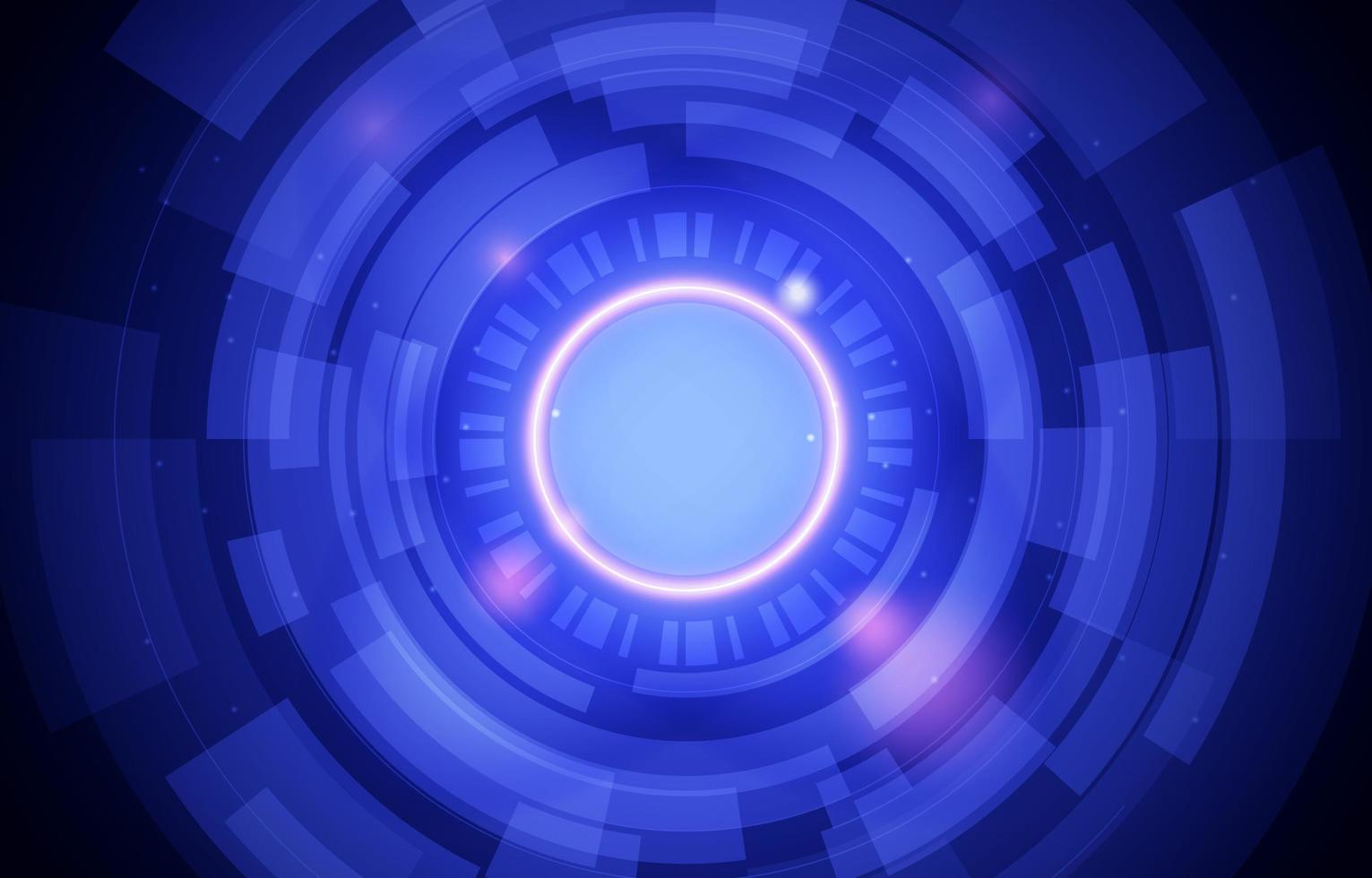 cercle techno fond vecteur