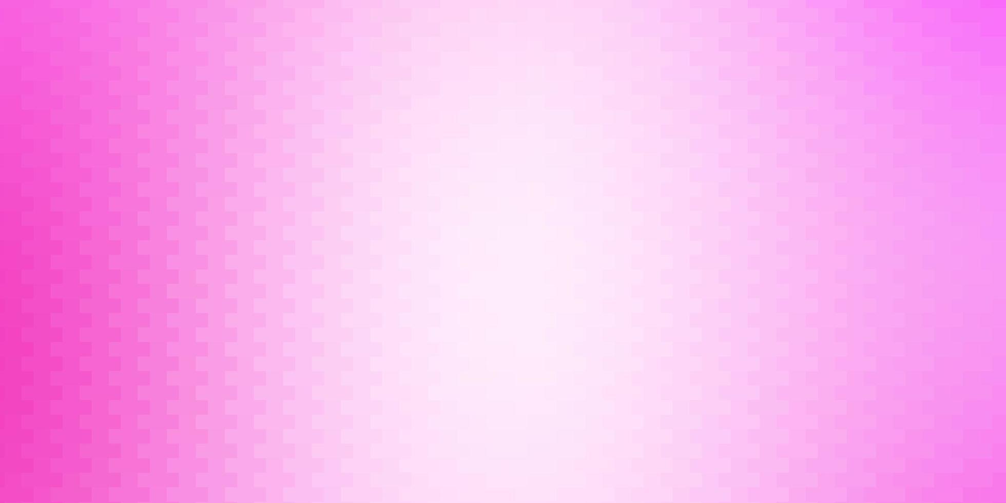 toile de fond de vecteur rose clair avec des rectangles.