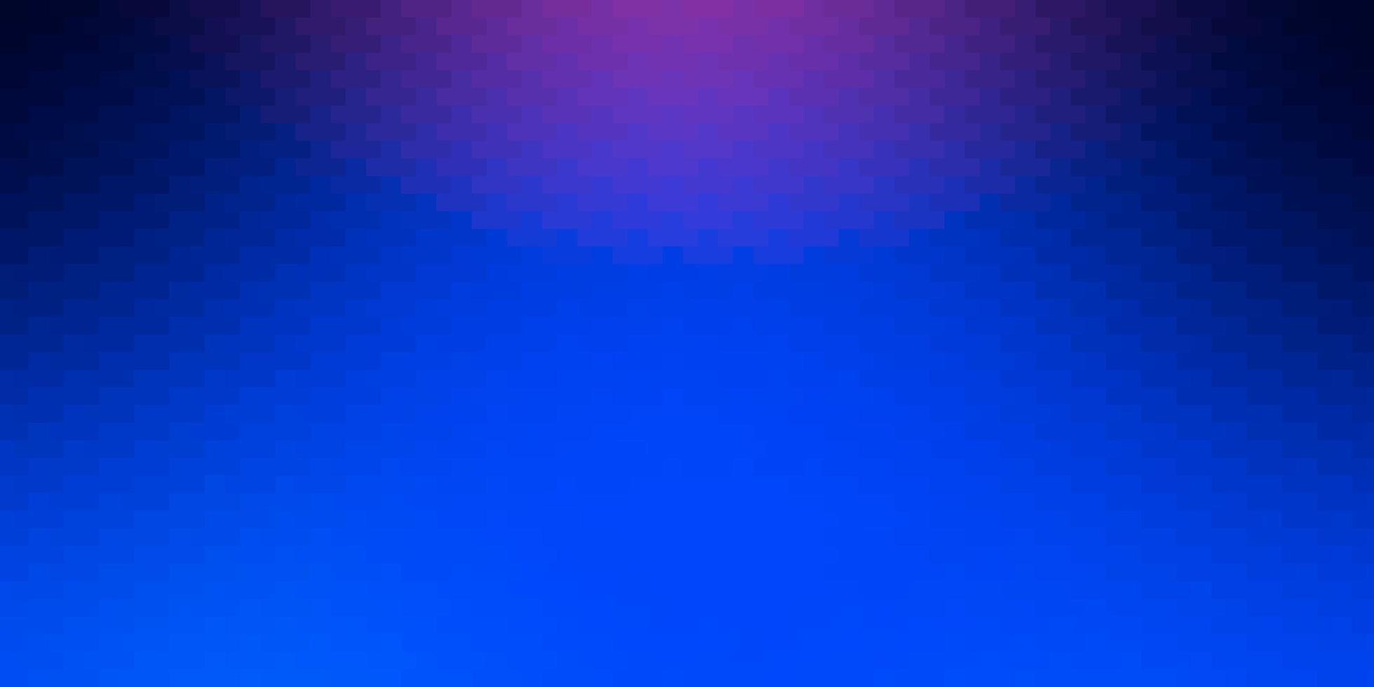 texture de vecteur rose foncé, bleu dans un style rectangulaire.