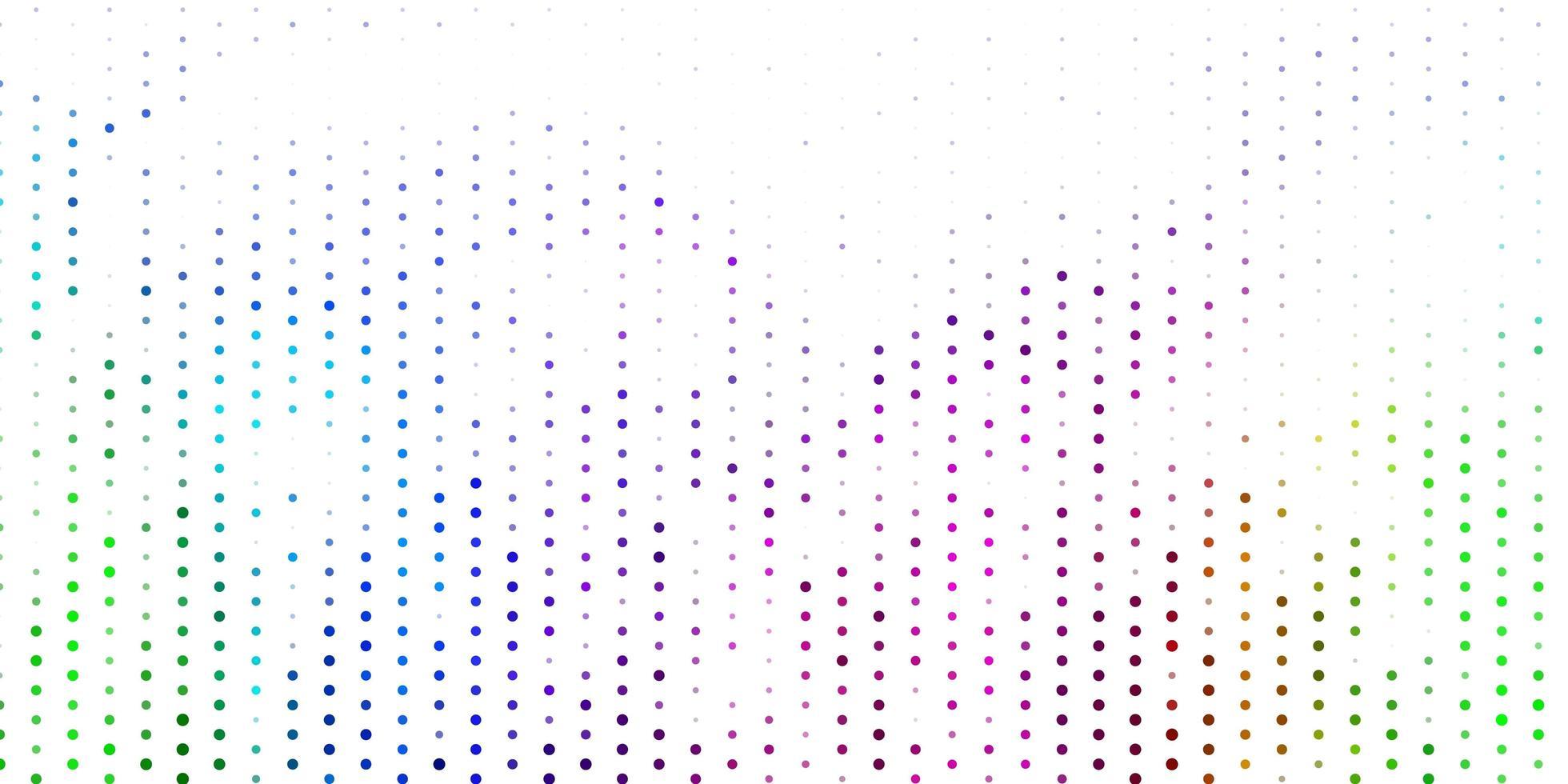 fond de vecteur multicolore clair avec des taches.