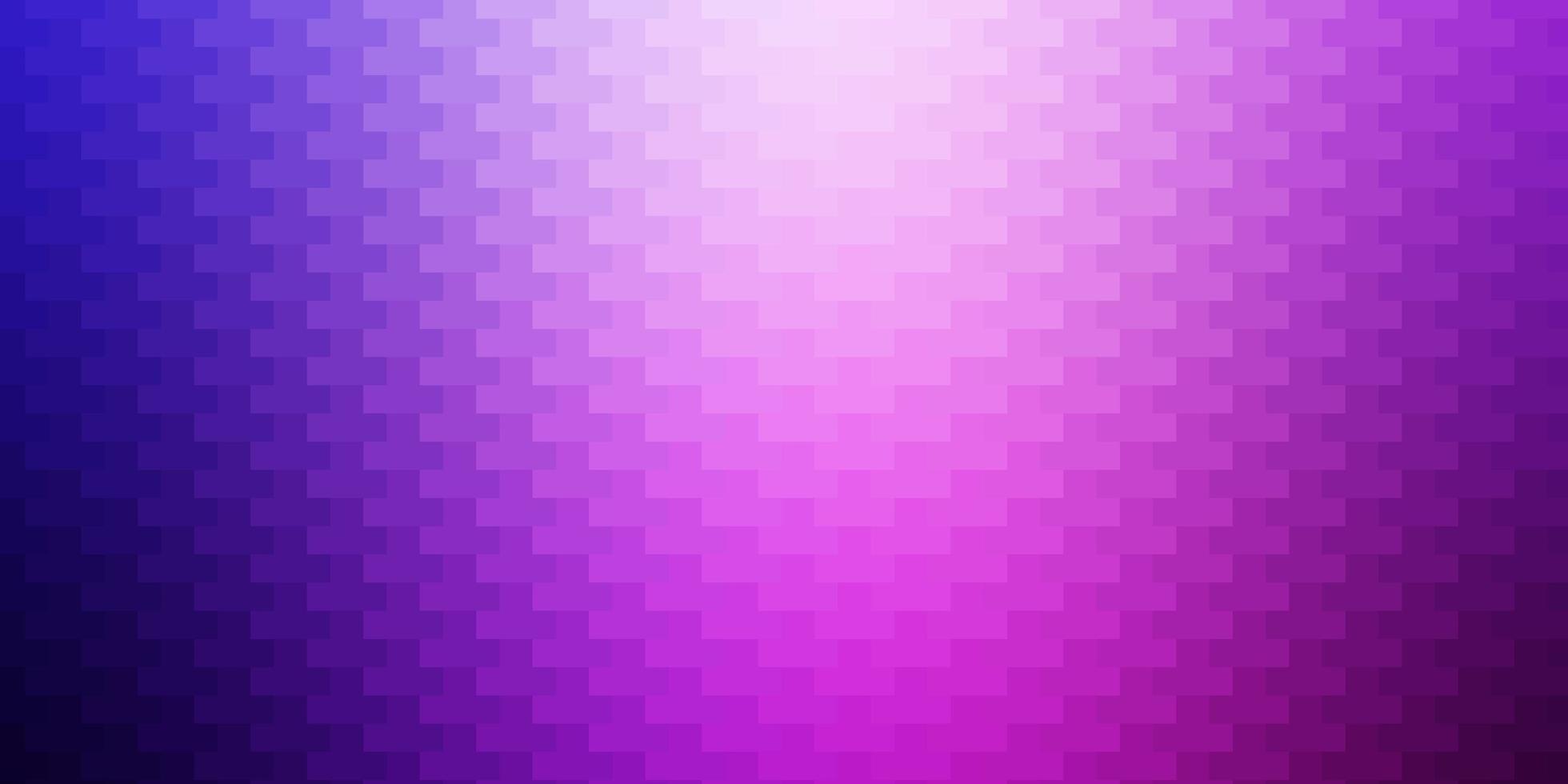 modèle vectoriel violet clair, rose dans un style carré.