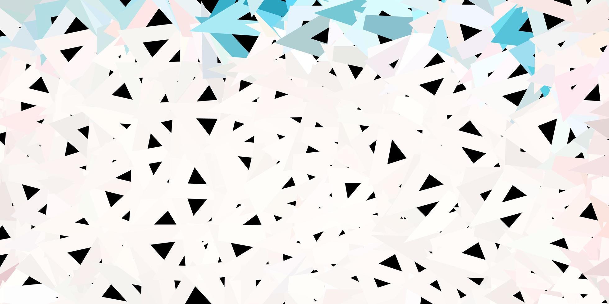 texture de triangle poly vecteur rose clair, vert.