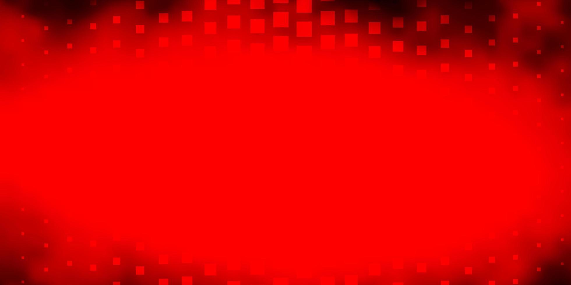 toile de fond de vecteur rouge foncé avec des rectangles.