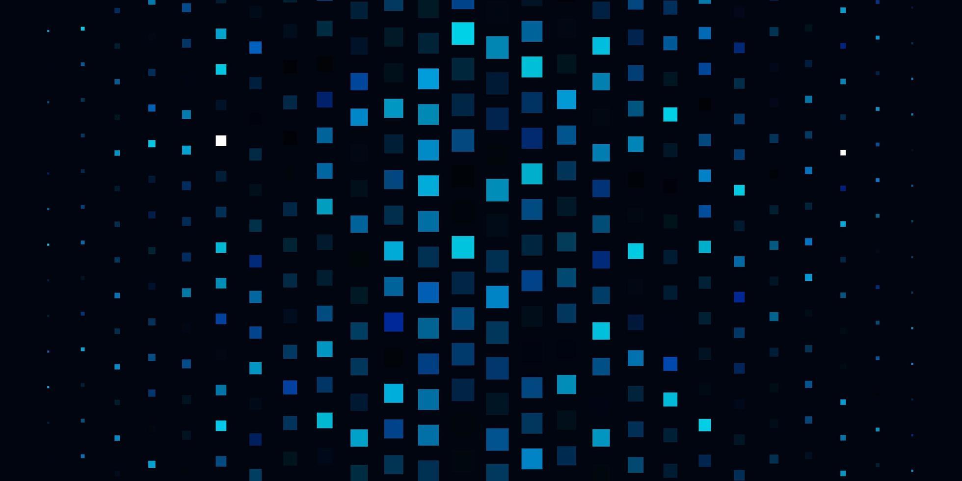 modèle vectoriel bleu clair dans un style carré