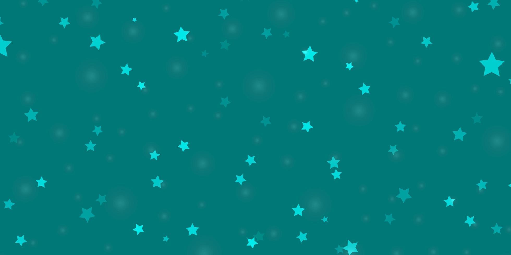 texture de vecteur bleu clair avec de belles étoiles.