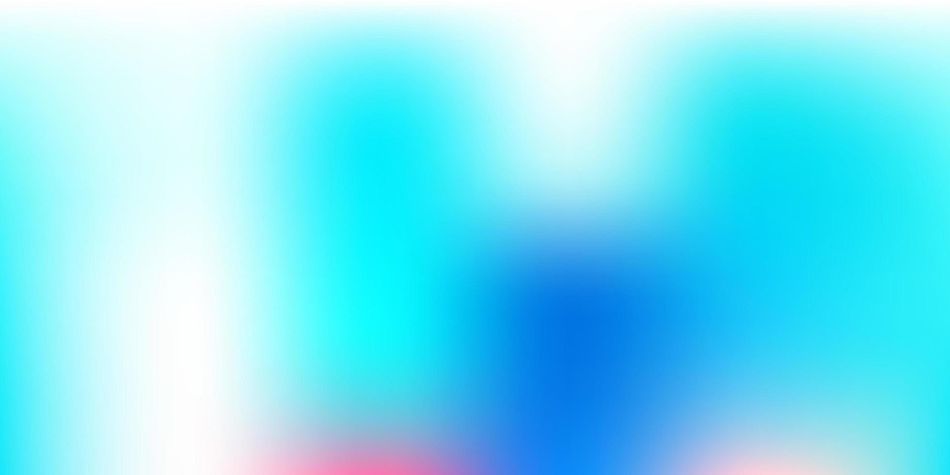 motif de flou de vecteur bleu foncé, rouge.