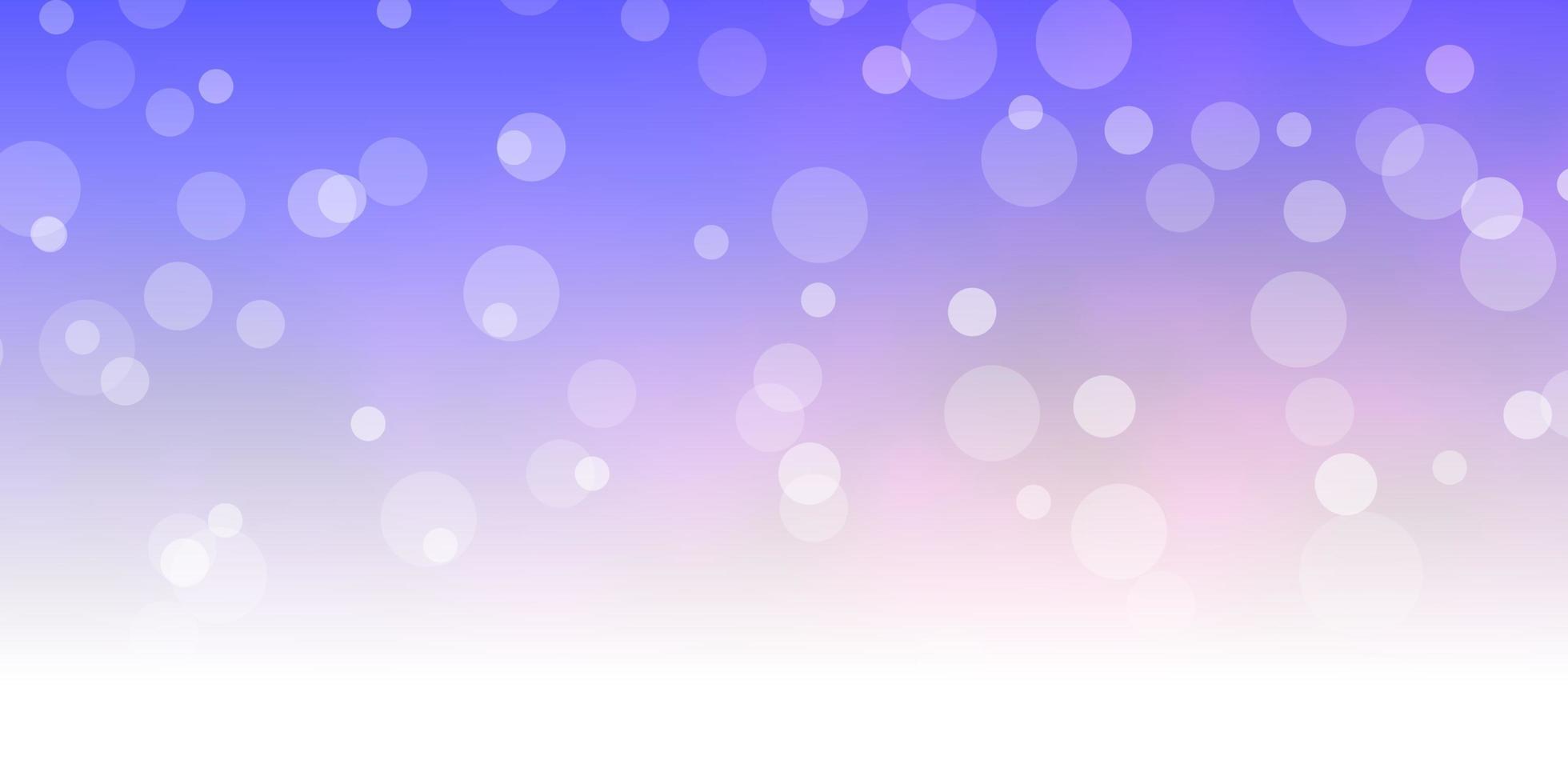 texture de vecteur bleu clair, rouge avec des cercles.