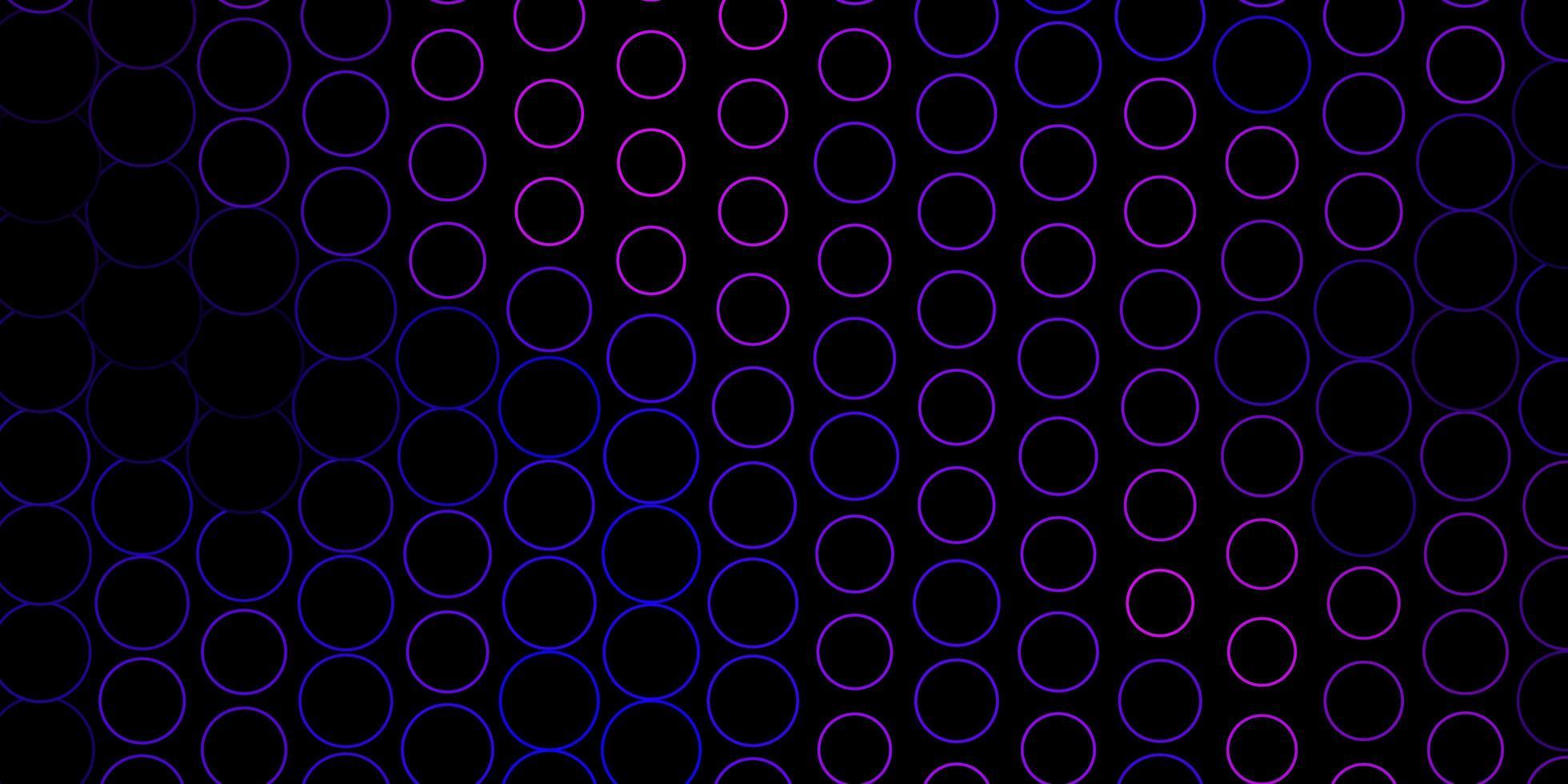 toile de fond de vecteur violet foncé, rose avec des points.