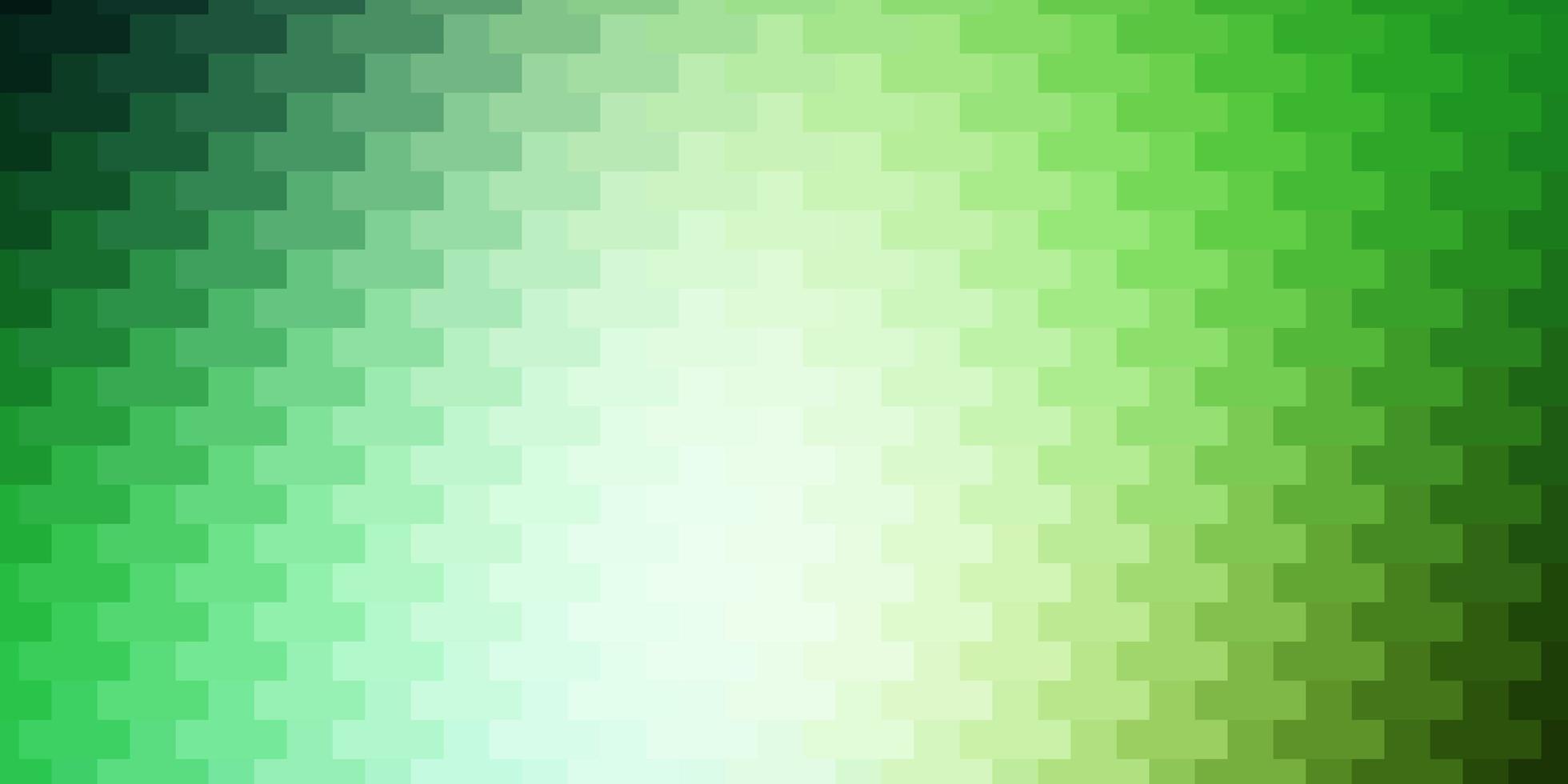 disposition de vecteur vert clair avec des lignes, des rectangles.
