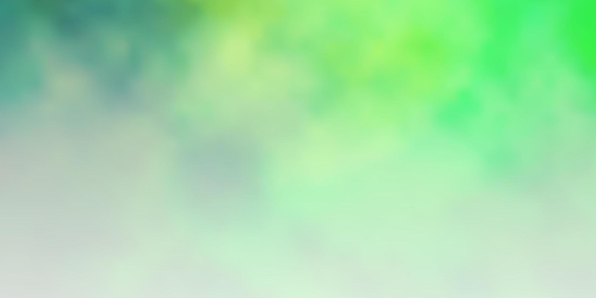 disposition de vecteur vert clair avec cloudscape.