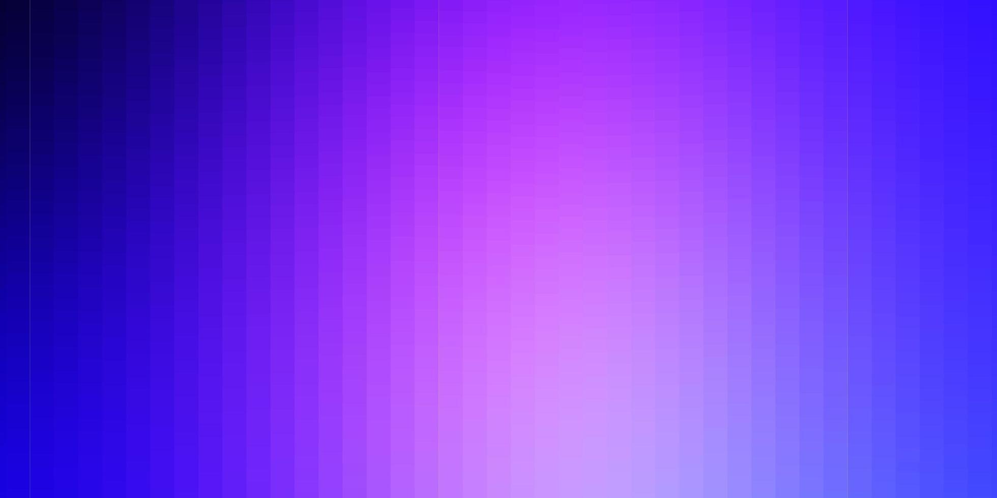 toile de fond de vecteur rose clair, bleu avec des rectangles.