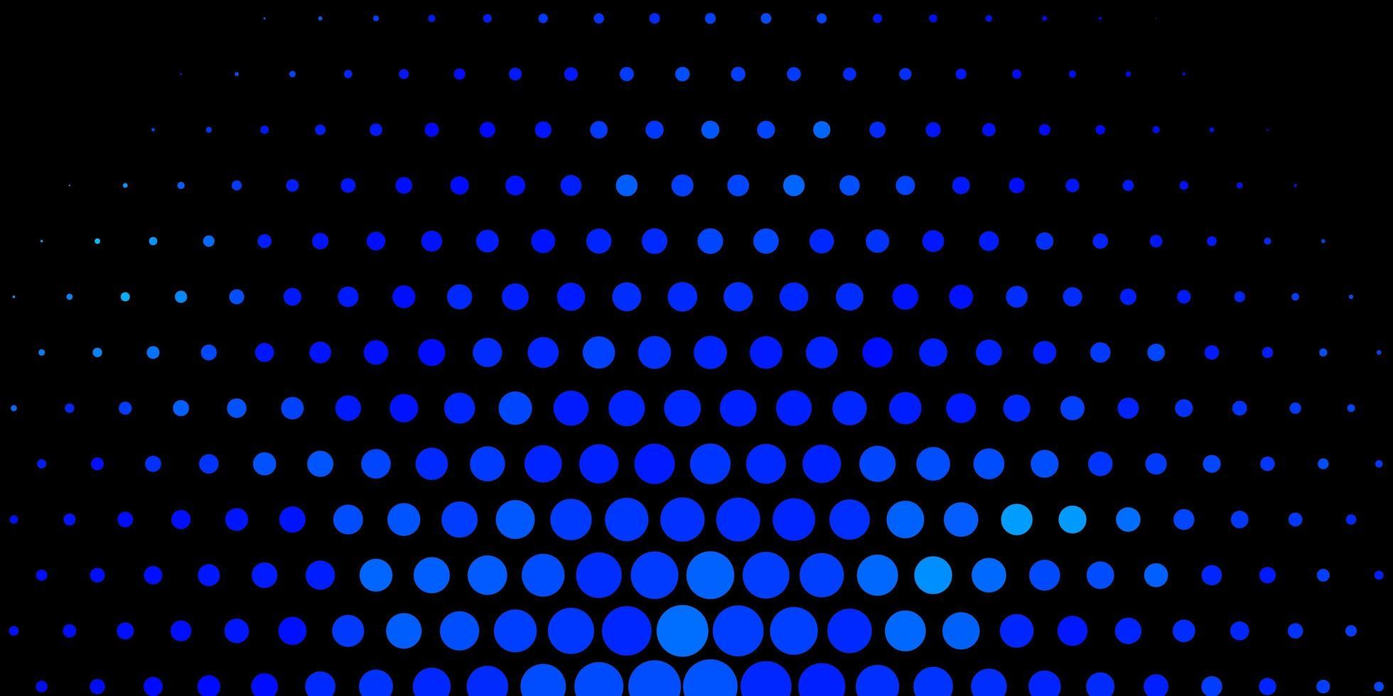 fond de vecteur bleu foncé avec des taches.