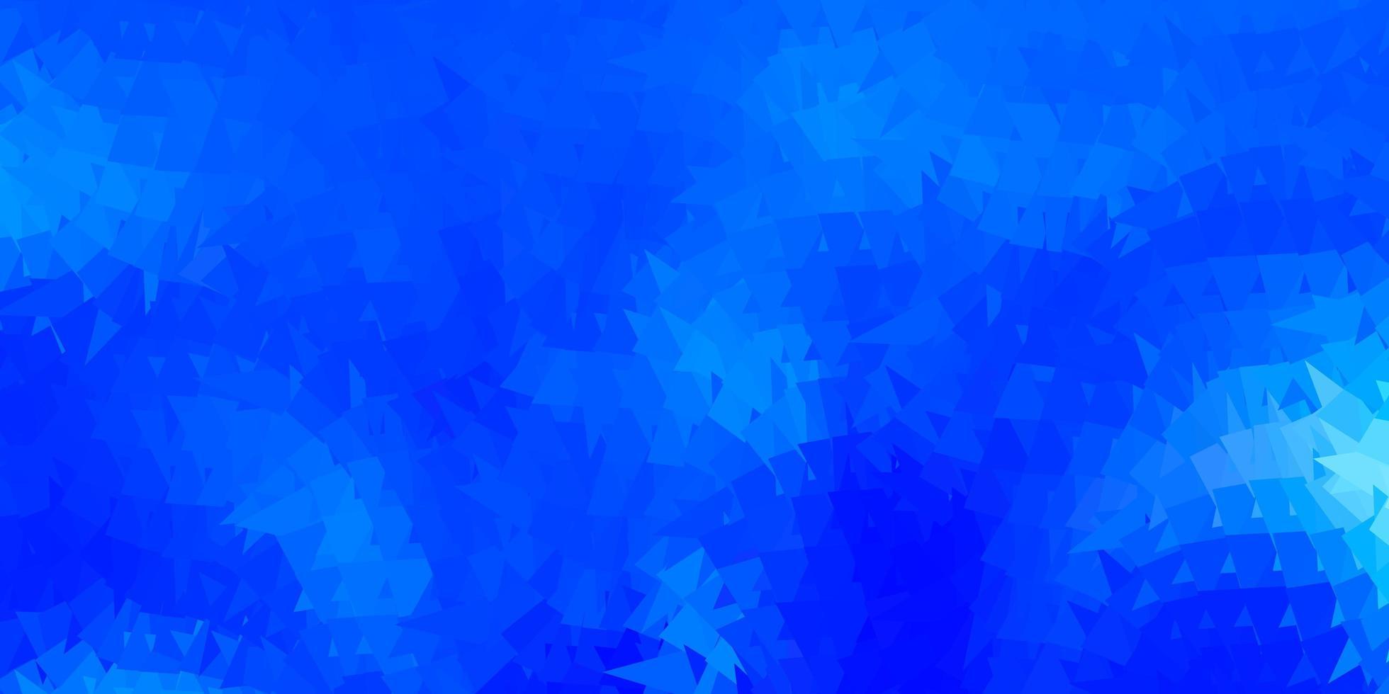 fond d'écran de polygone dégradé vecteur bleu clair.