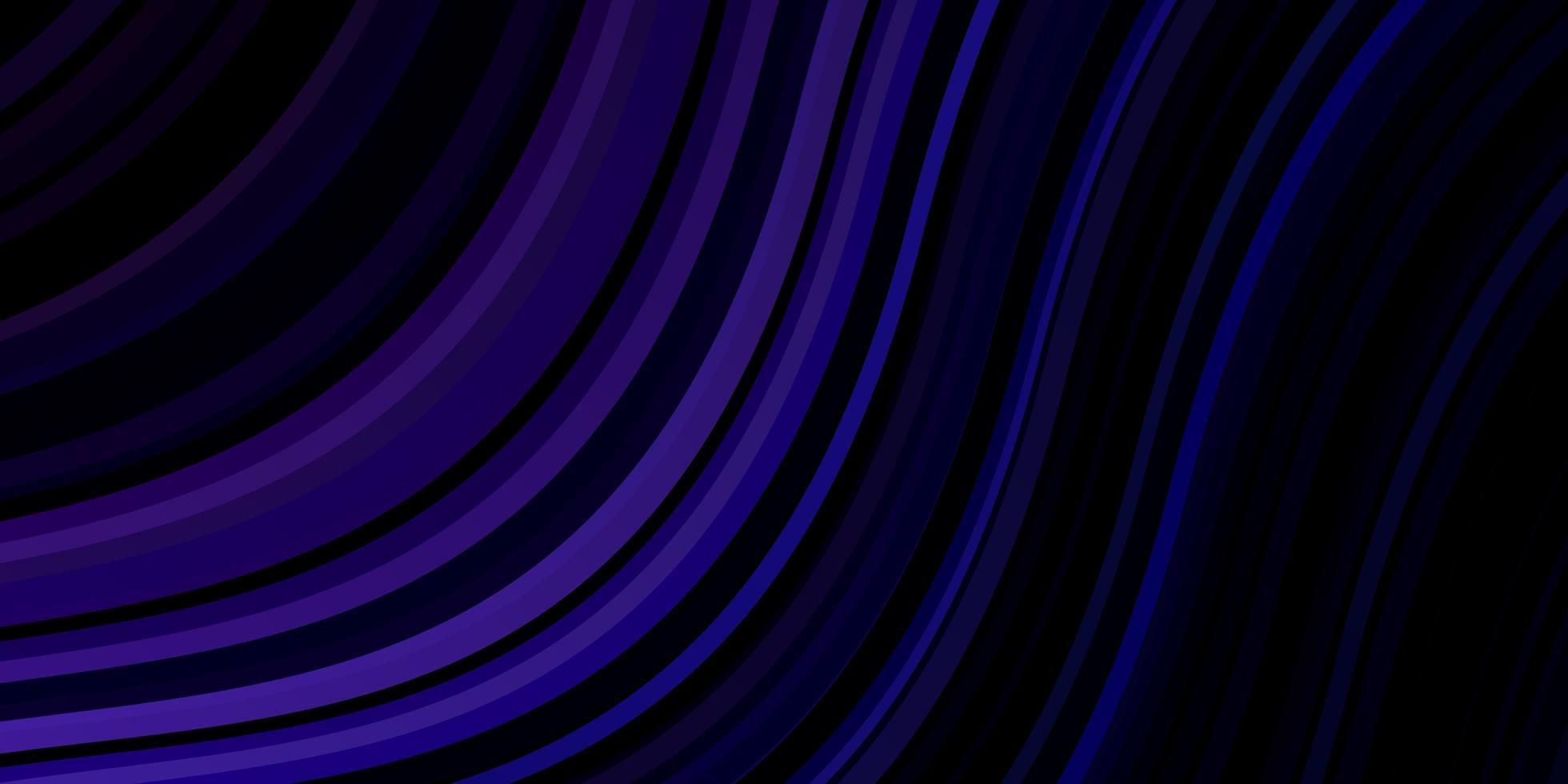 fond de vecteur rose foncé, bleu avec des courbes.