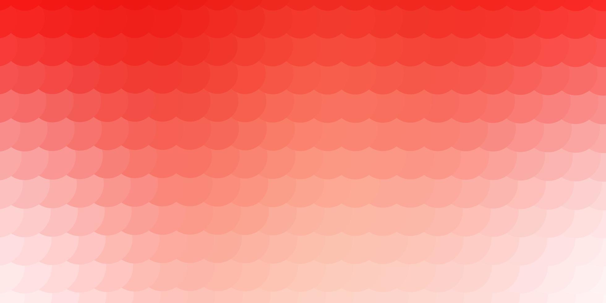 fond de vecteur rouge clair avec des bulles.