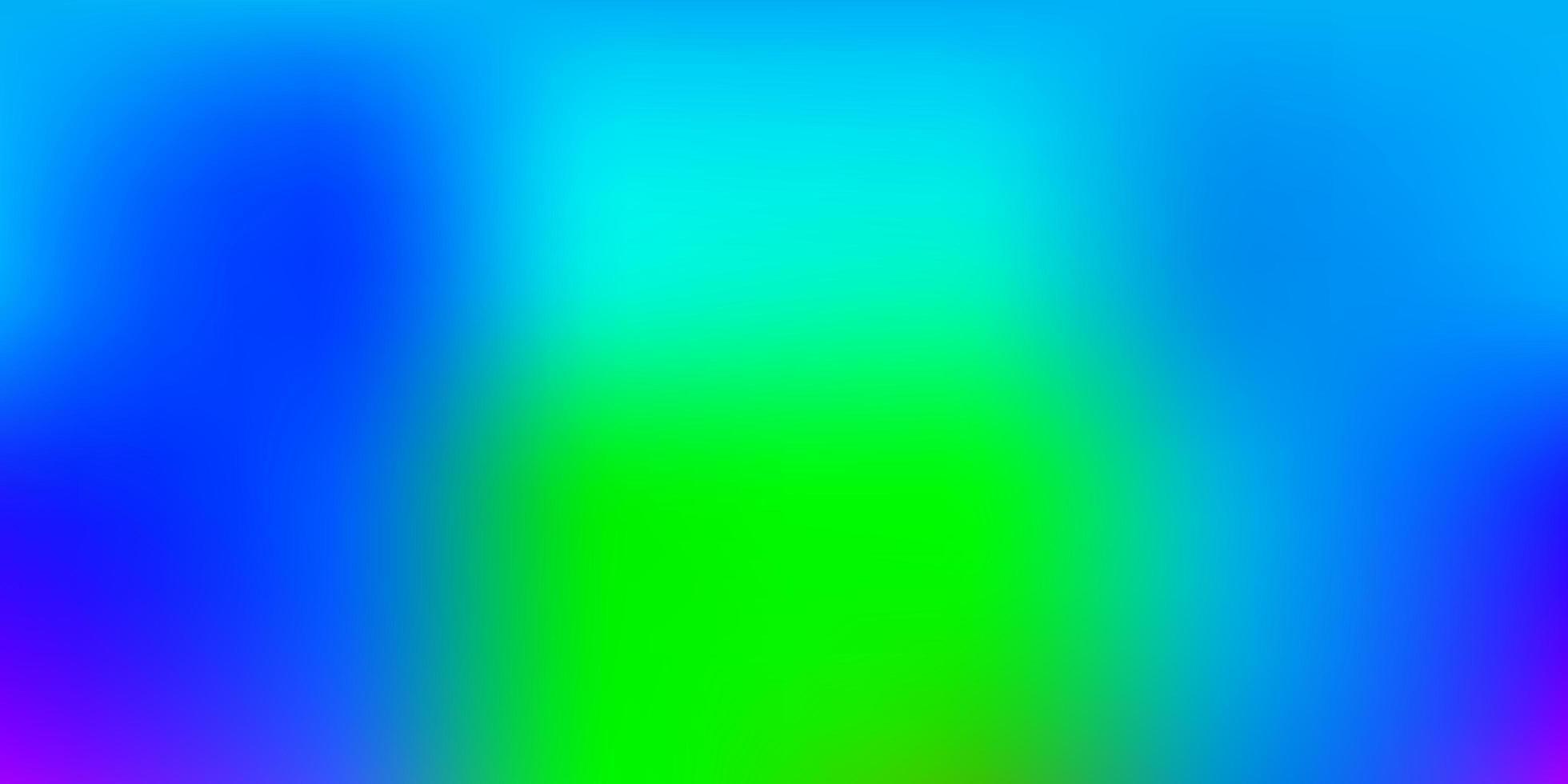 motif flou de vecteur multicolore léger.
