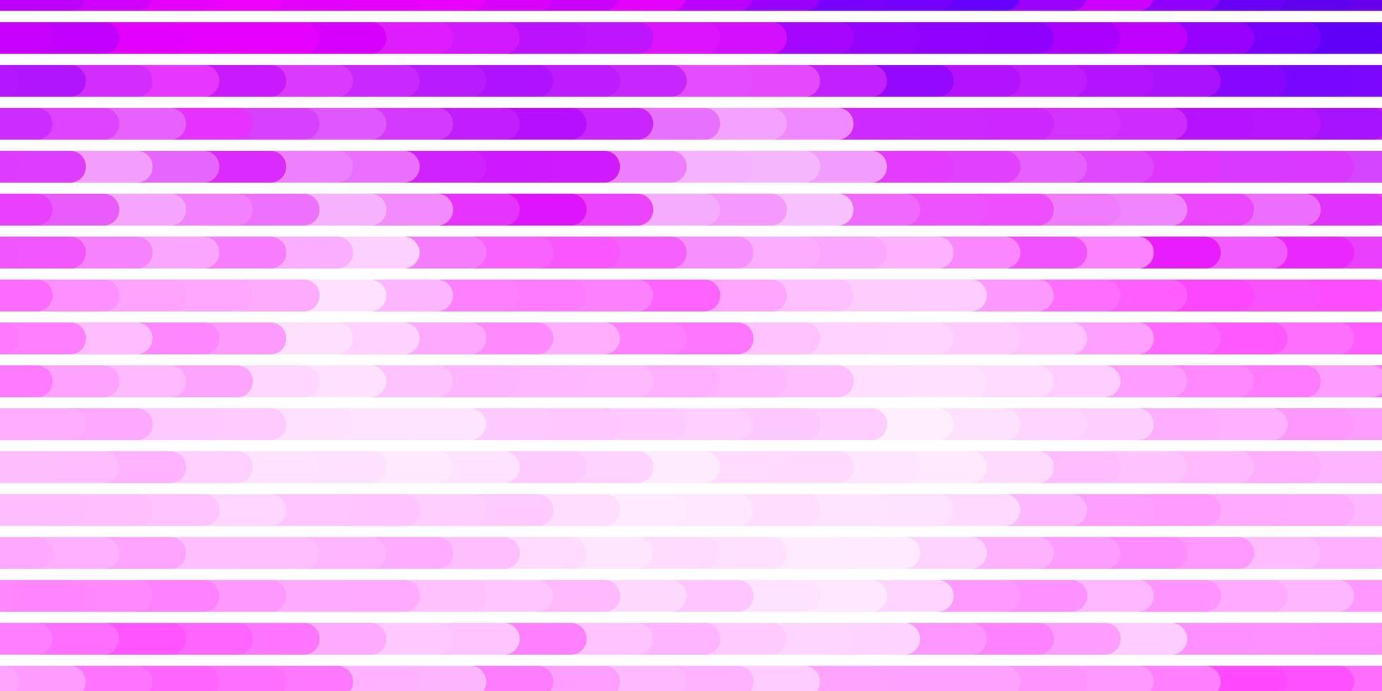 toile de fond de vecteur violet clair, rose avec des lignes.