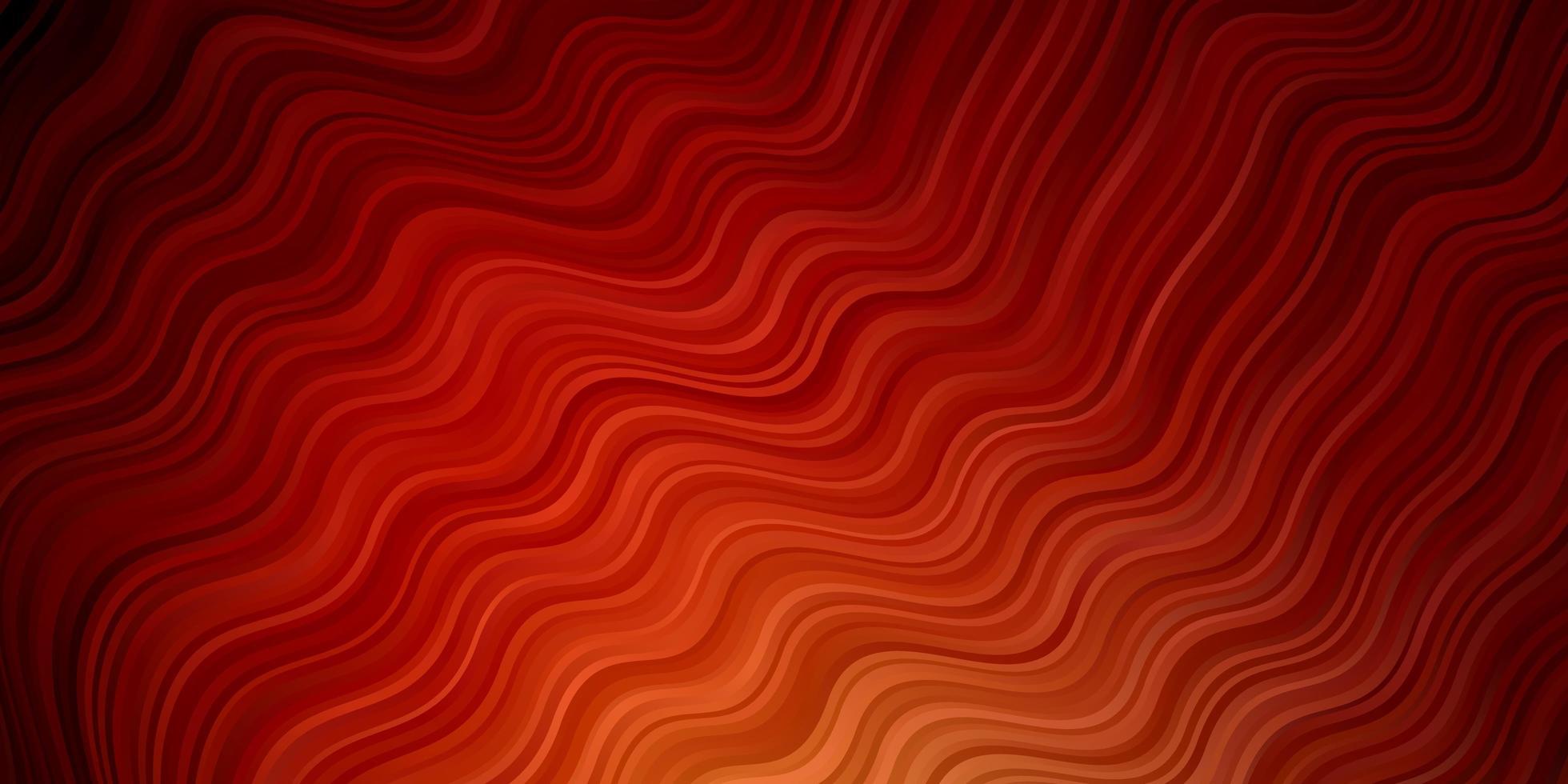 modèle vectoriel rouge foncé avec des lignes ironiques.