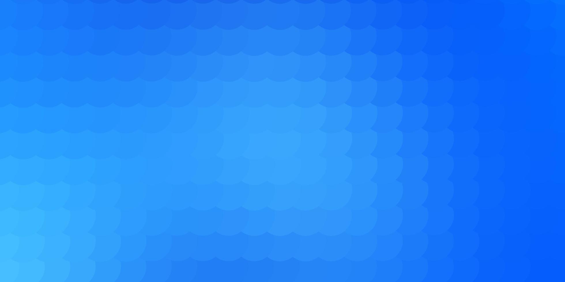 fond de vecteur bleu clair avec des cercles