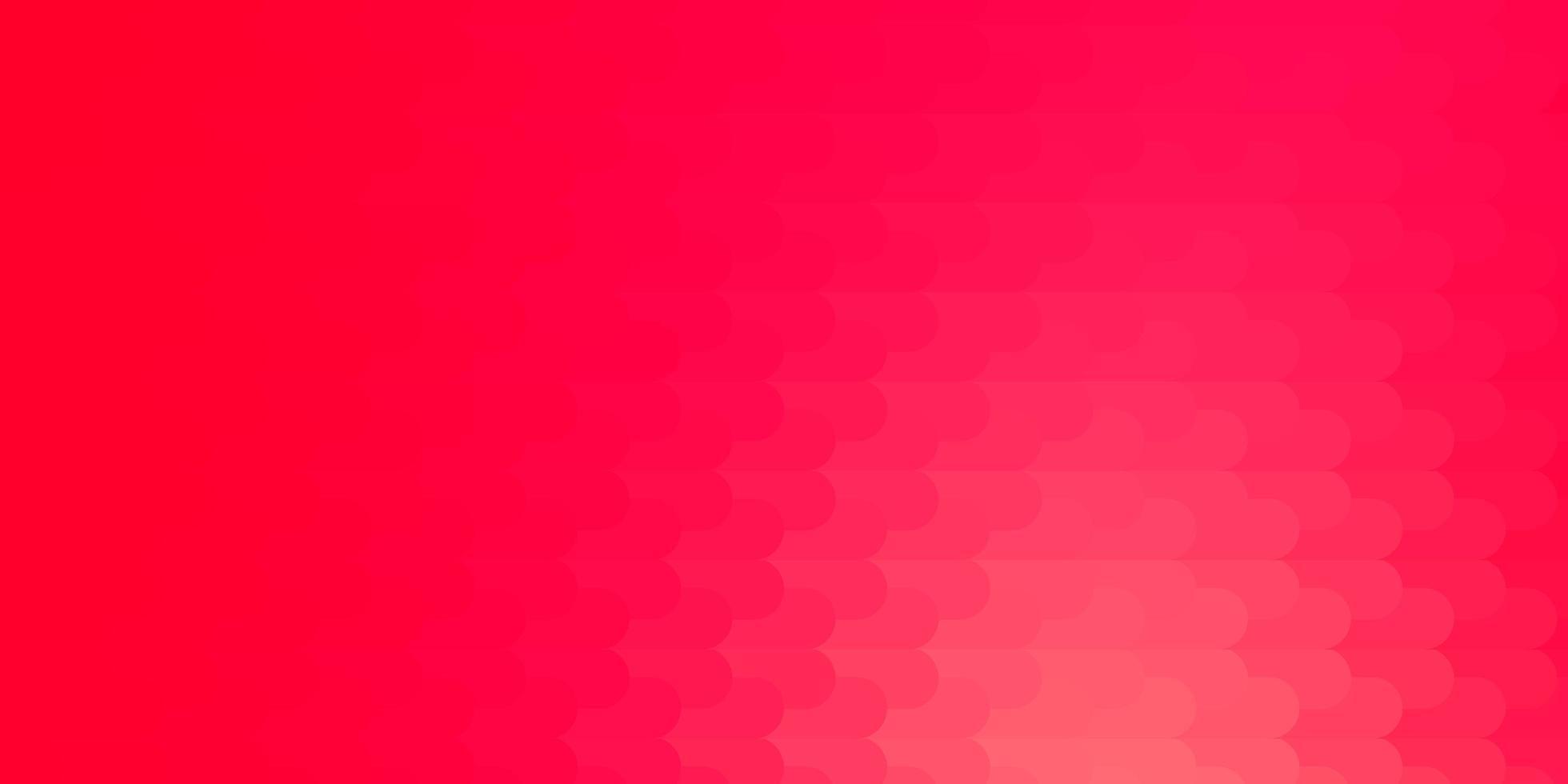 toile de fond de vecteur rouge et jaune clair avec des lignes.