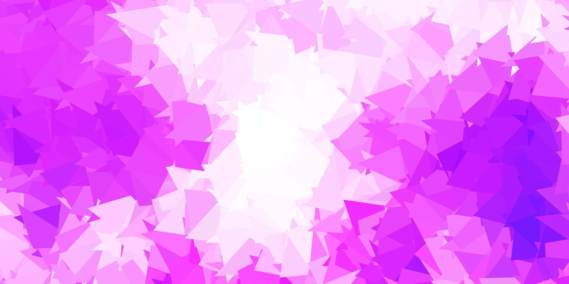 fond d'écran polygonale géométrique vecteur violet clair.