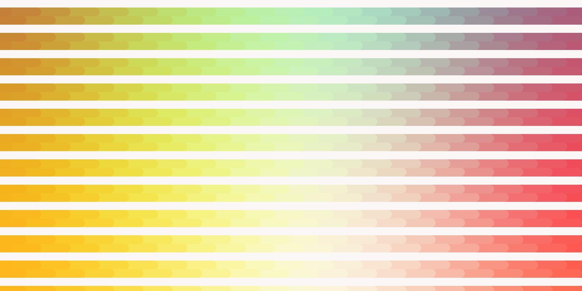 texture de vecteur vert clair, rouge avec des lignes.