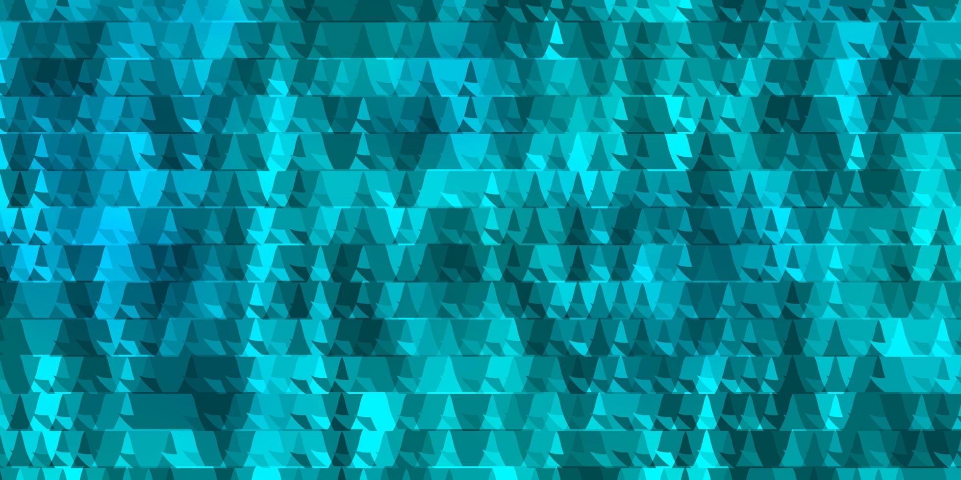 fond de vecteur bleu clair avec des lignes, des triangles.