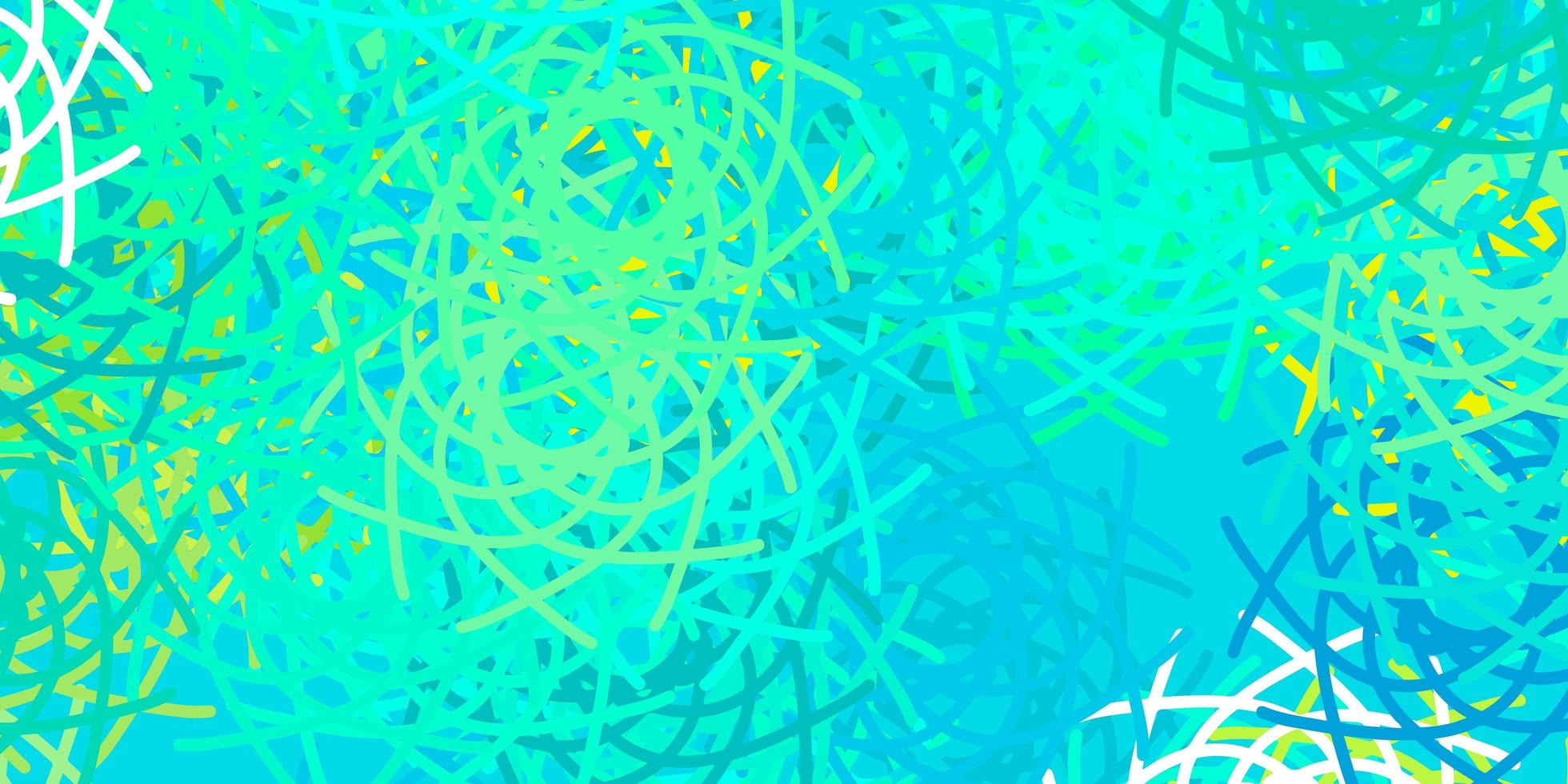 texture vecteur vert clair avec des formes de memphis.