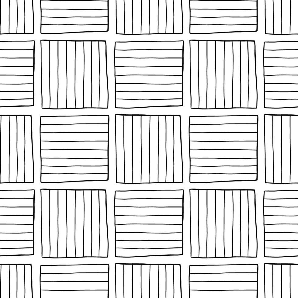 motif de fond de texture transparente de vecteur. dessinés à la main, couleurs noires, blanches. vecteur
