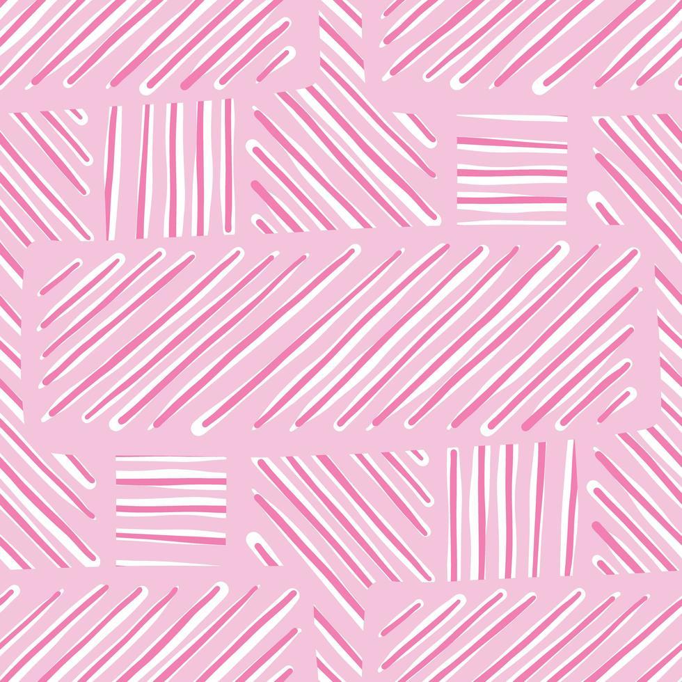 motif de fond de texture transparente de vecteur. dessinés à la main, couleurs roses, blanches. vecteur