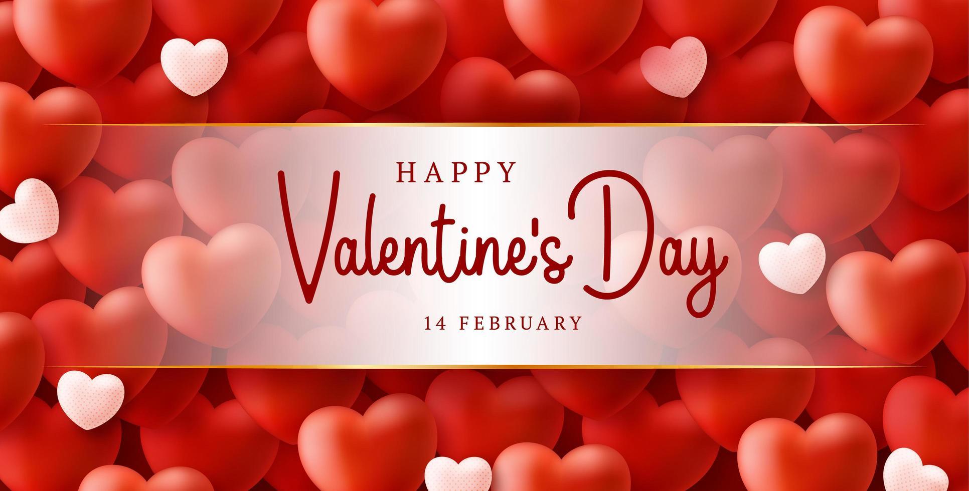 fond de vente heureux et sûr Saint Valentin avec motif coeur ballons. illustration vectorielle de loce et covid coronavirus concept. fond d'écran, flyers, invitation, affiches, brochure, bannières vecteur