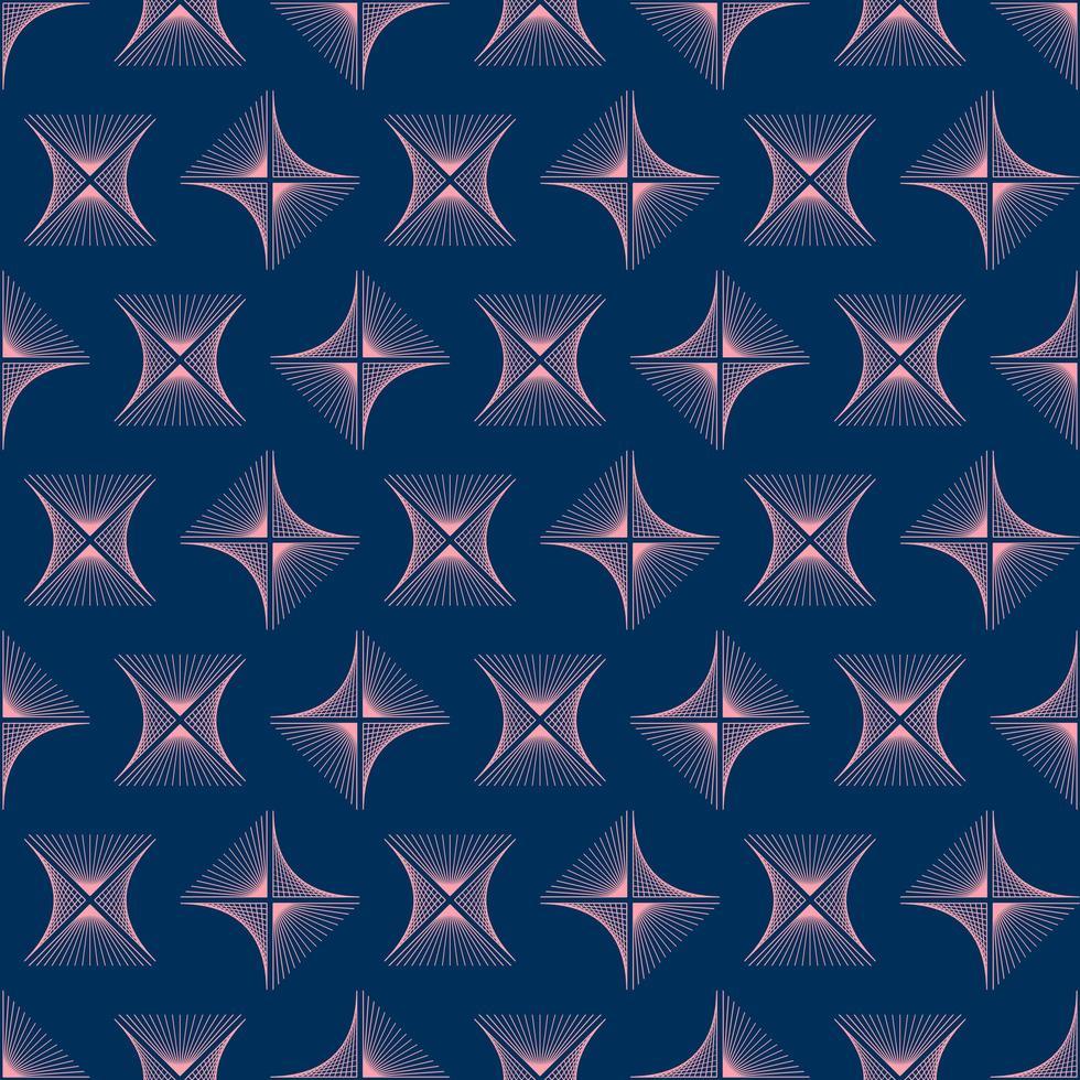 texture de fond de lignes abstraites losange rose vague dans un style ornemental géométrique. conception sans couture vecteur