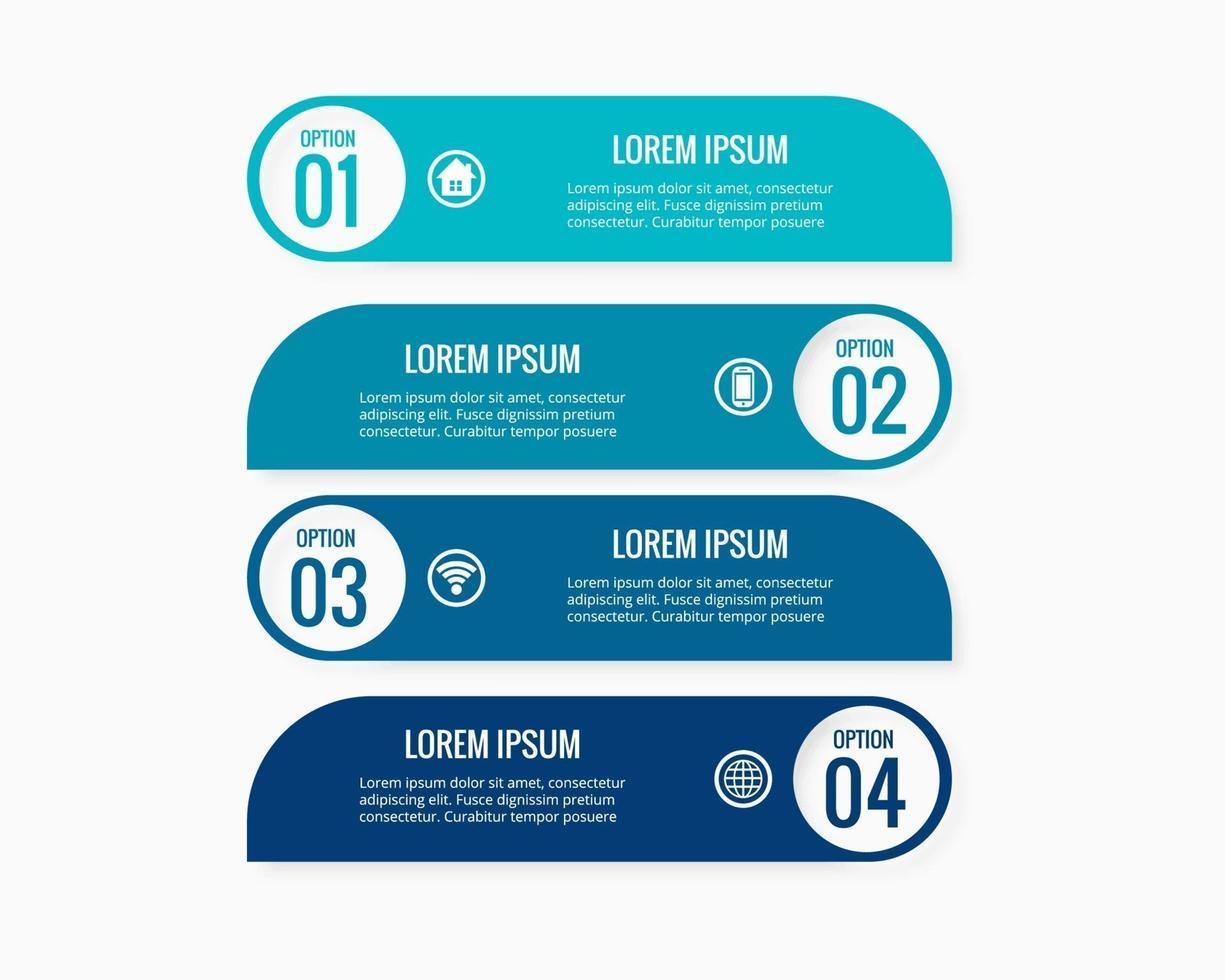 conception d & # 39; illustration vectorielle entreprise infographie collection vecteur