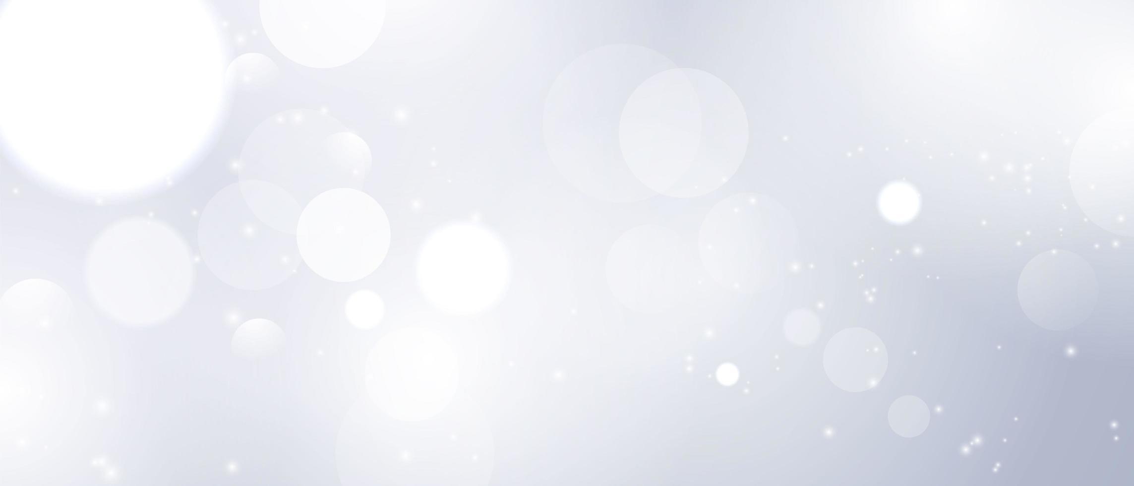 Élément de lumière floue abstraite pouvant être utilisé pour la décoration de la couverture bokeh vecteur