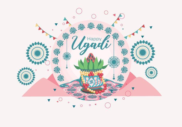 Vecteur d'Ugadi