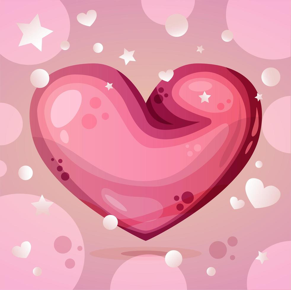 illustration de la saint valentin vecteur
