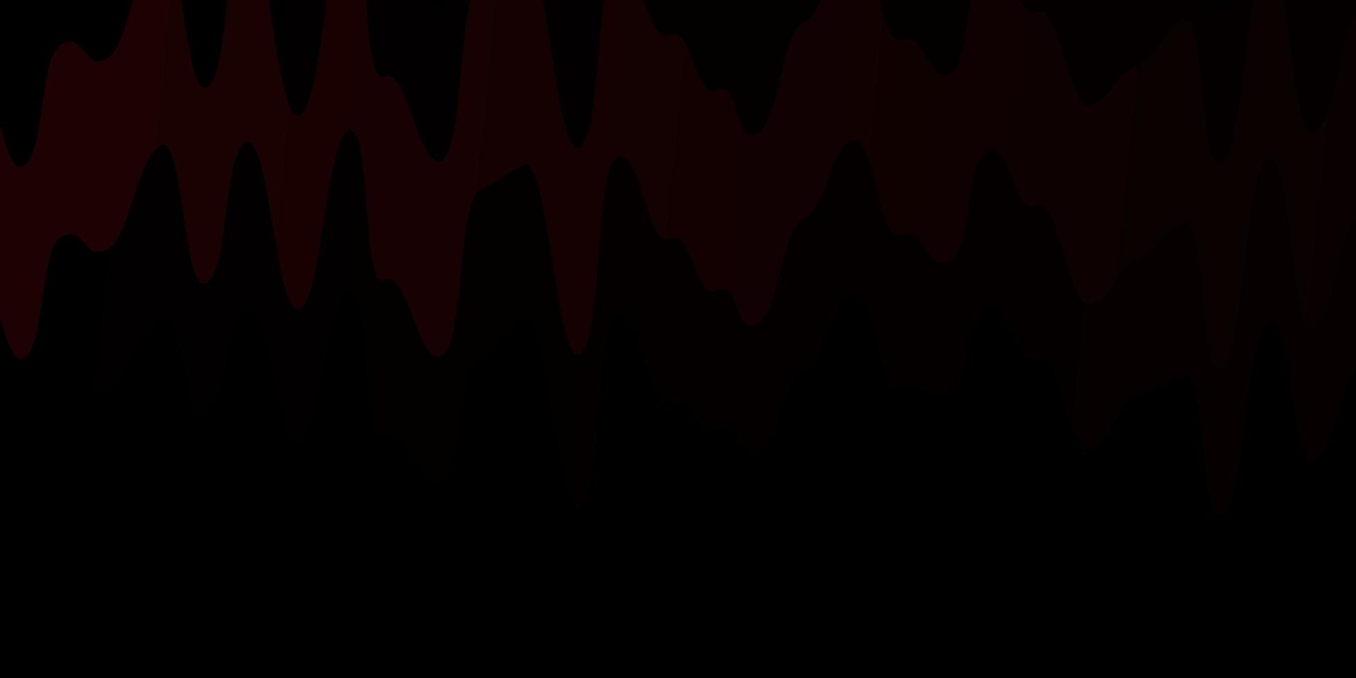 modèle de vecteur rouge foncé avec des lignes courbes.
