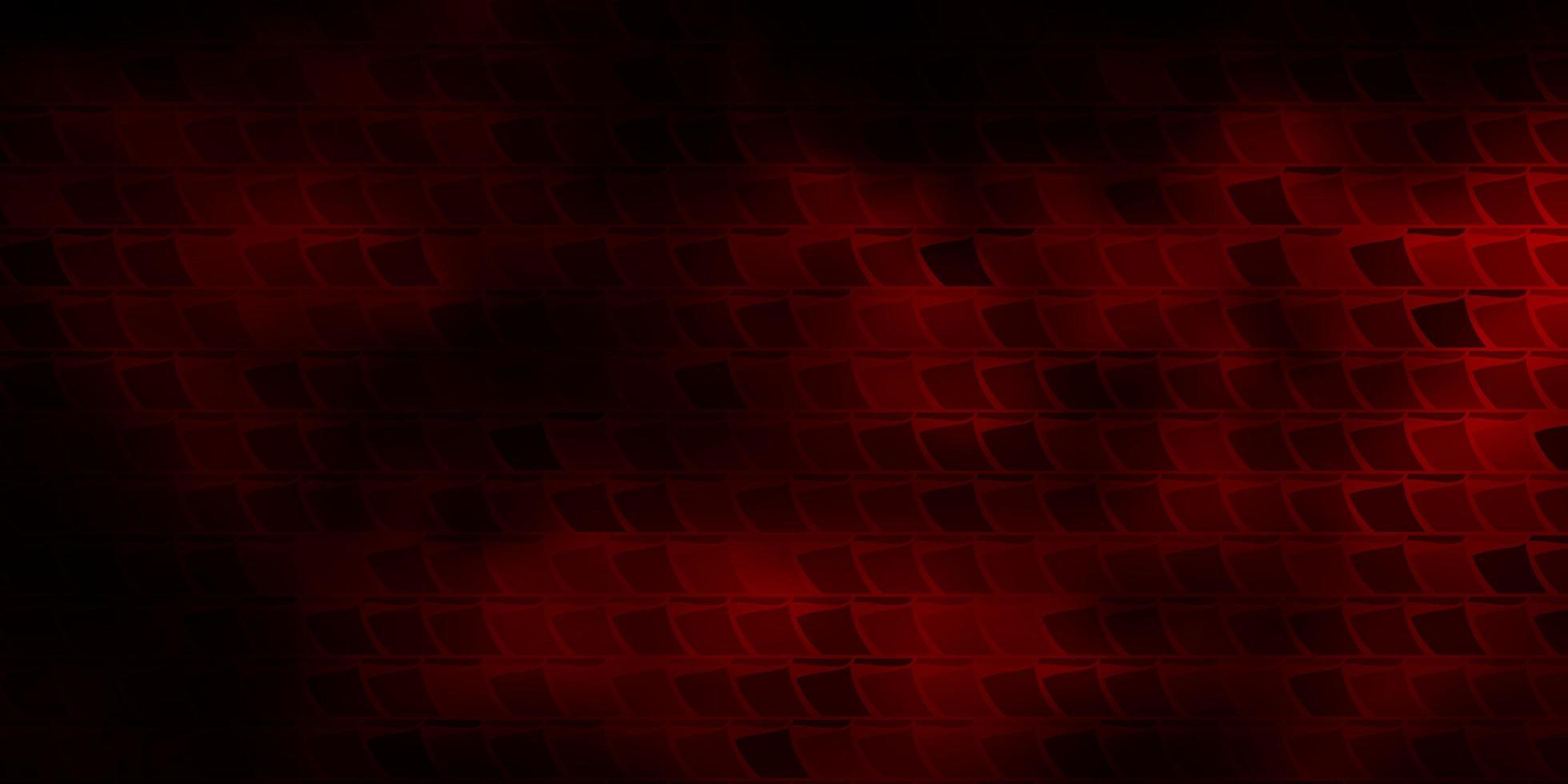 disposition de vecteur rouge foncé avec des lignes, des rectangles.