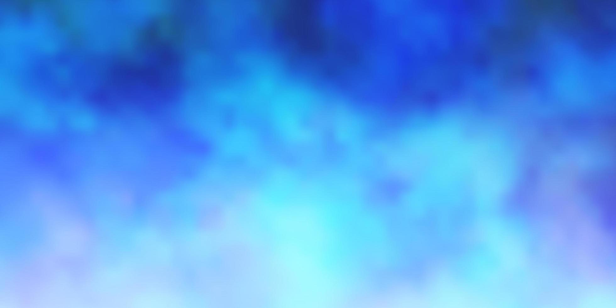 disposition de vecteur bleu clair avec cloudscape.