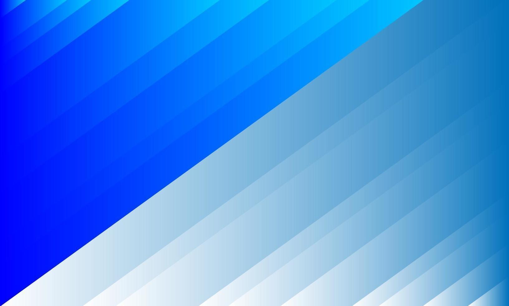fond abstrait bande bleue diagonale colorée vecteur