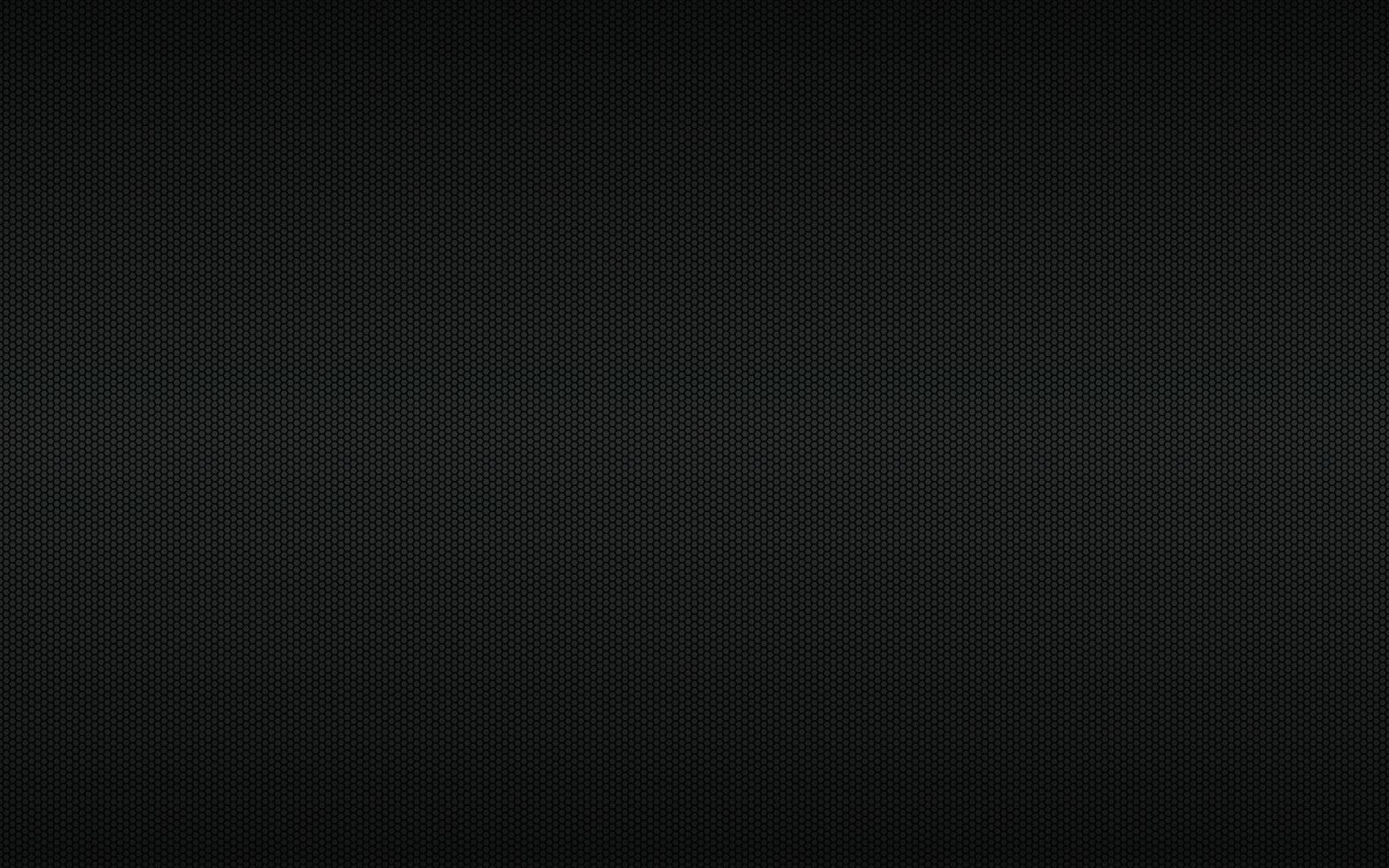 fond géométrique noir moderne haute résolution avec grille polygonale. motif hexagonal métallique noir abstrait. illustration vectorielle simple vecteur