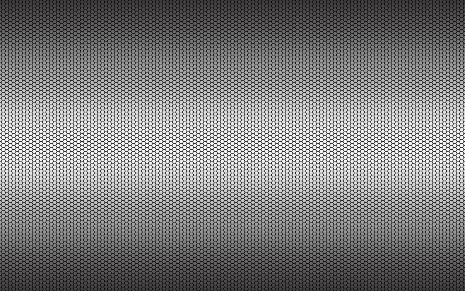 fond hexagonal géométrique gris simple moderne. abstrait polygonale métallique noir. illustration vectorielle simple vecteur
